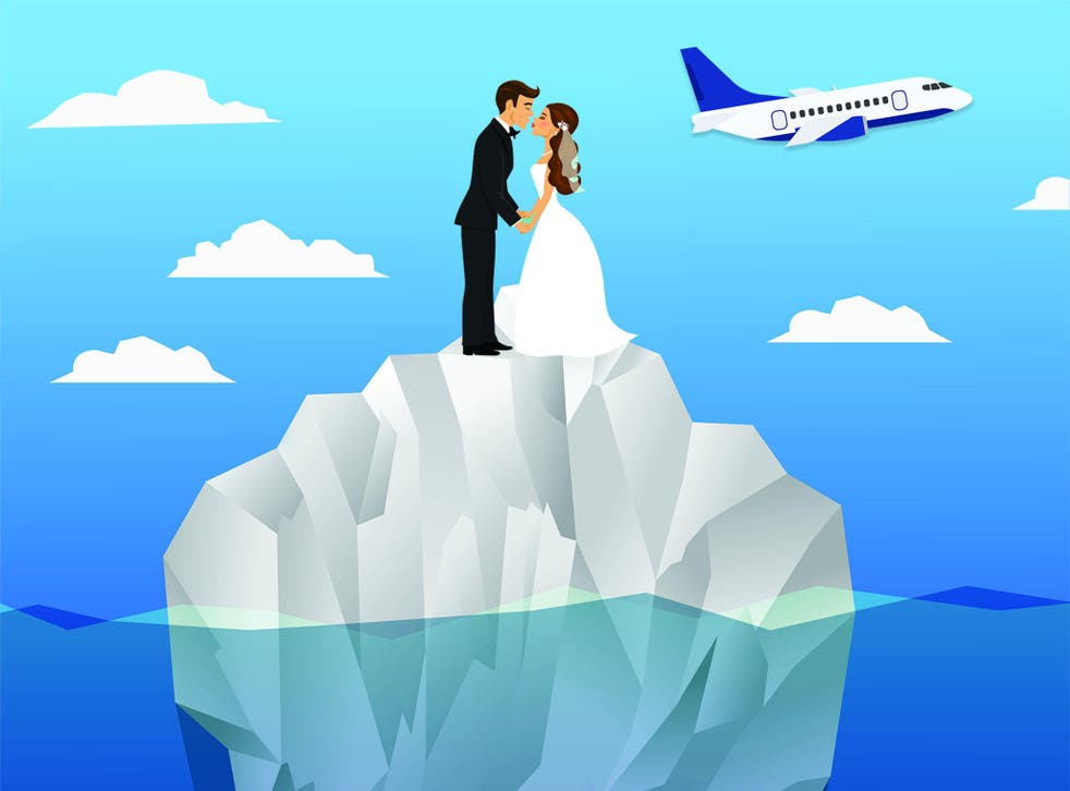 If flying less is the best way to reduce your carbon footprint, why are destination weddings still so popular?