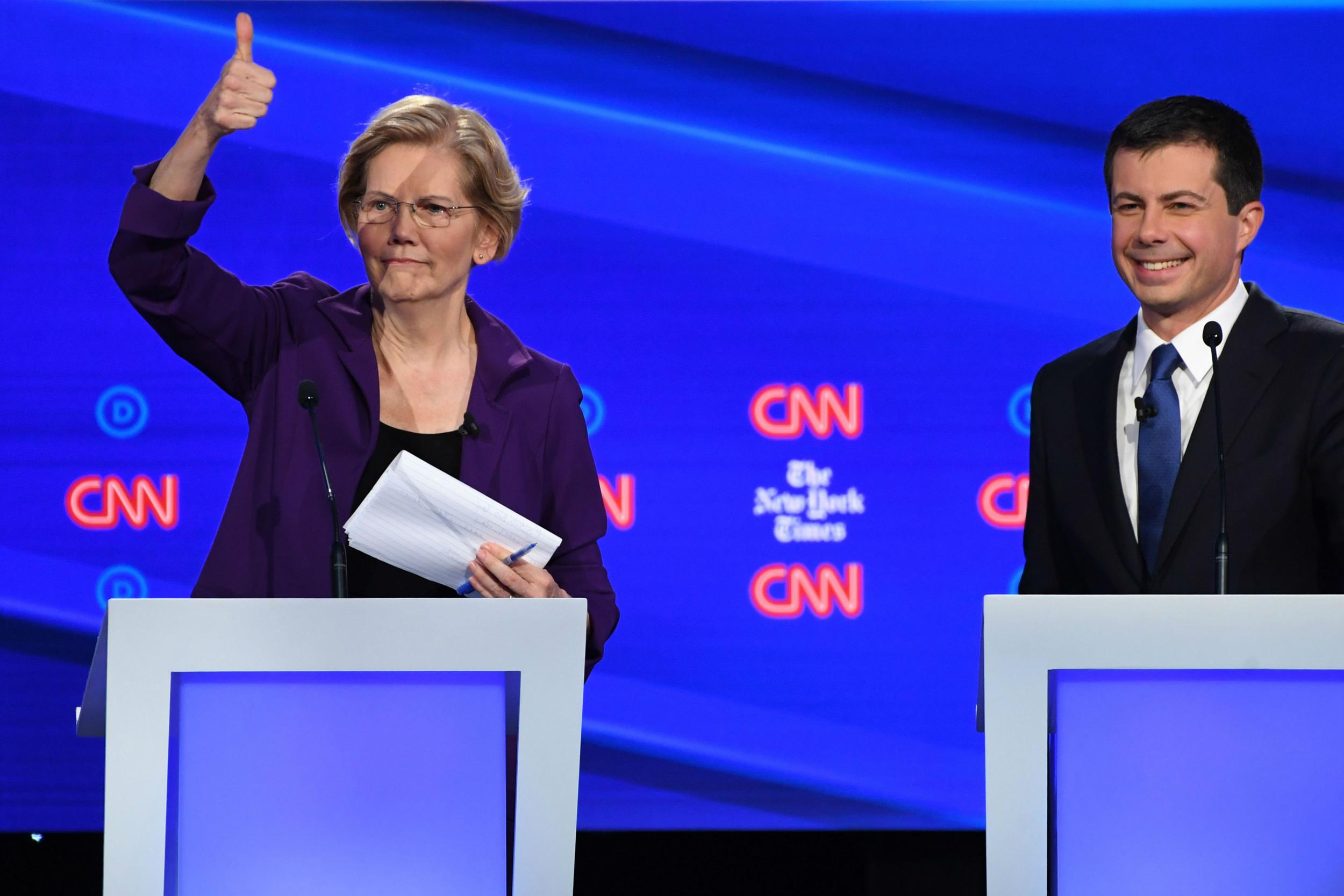 Pete Buttigieg won the Democratic debate by bringing a youthful bite back to moderate politics