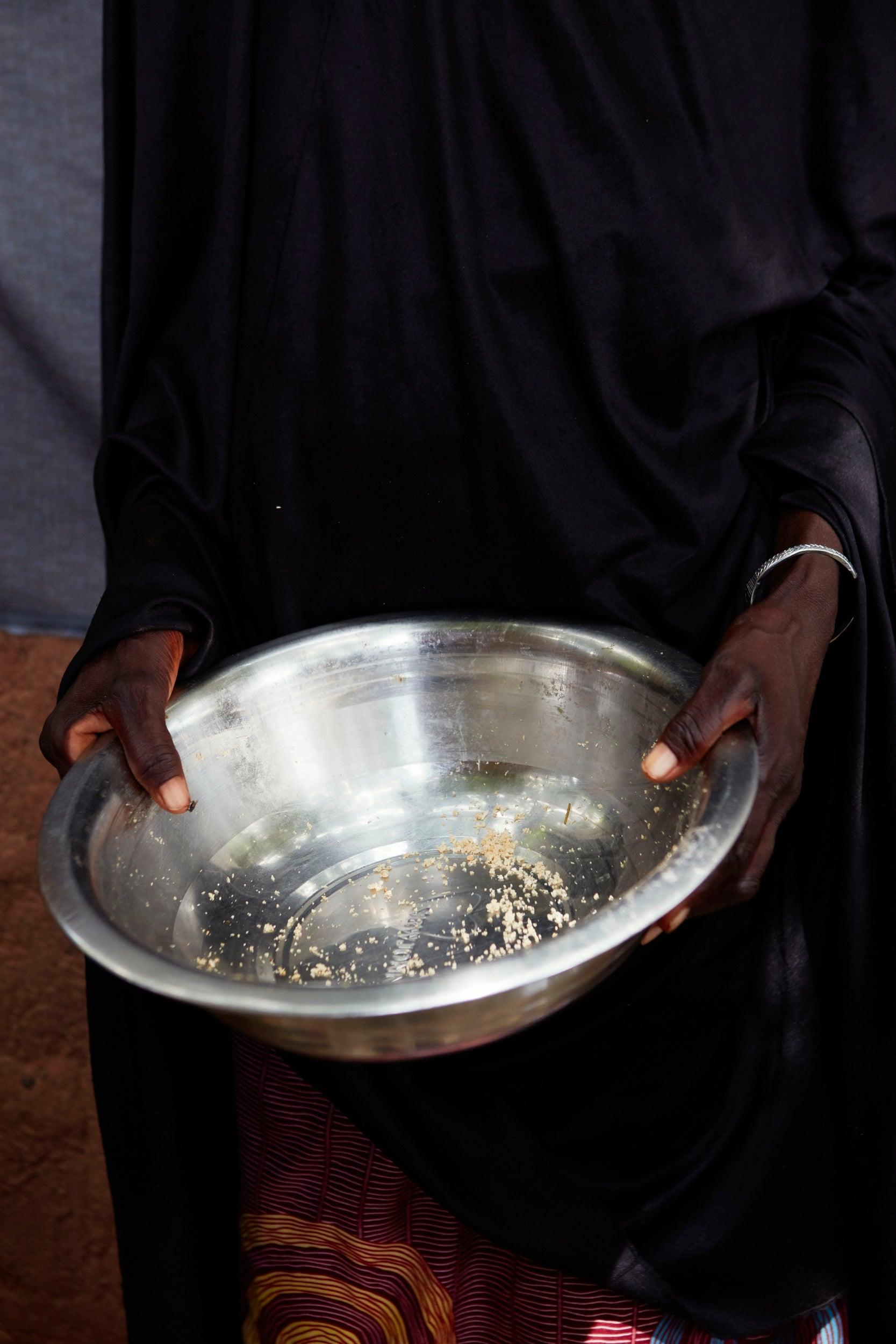 Ali Naliguido's empty bowl