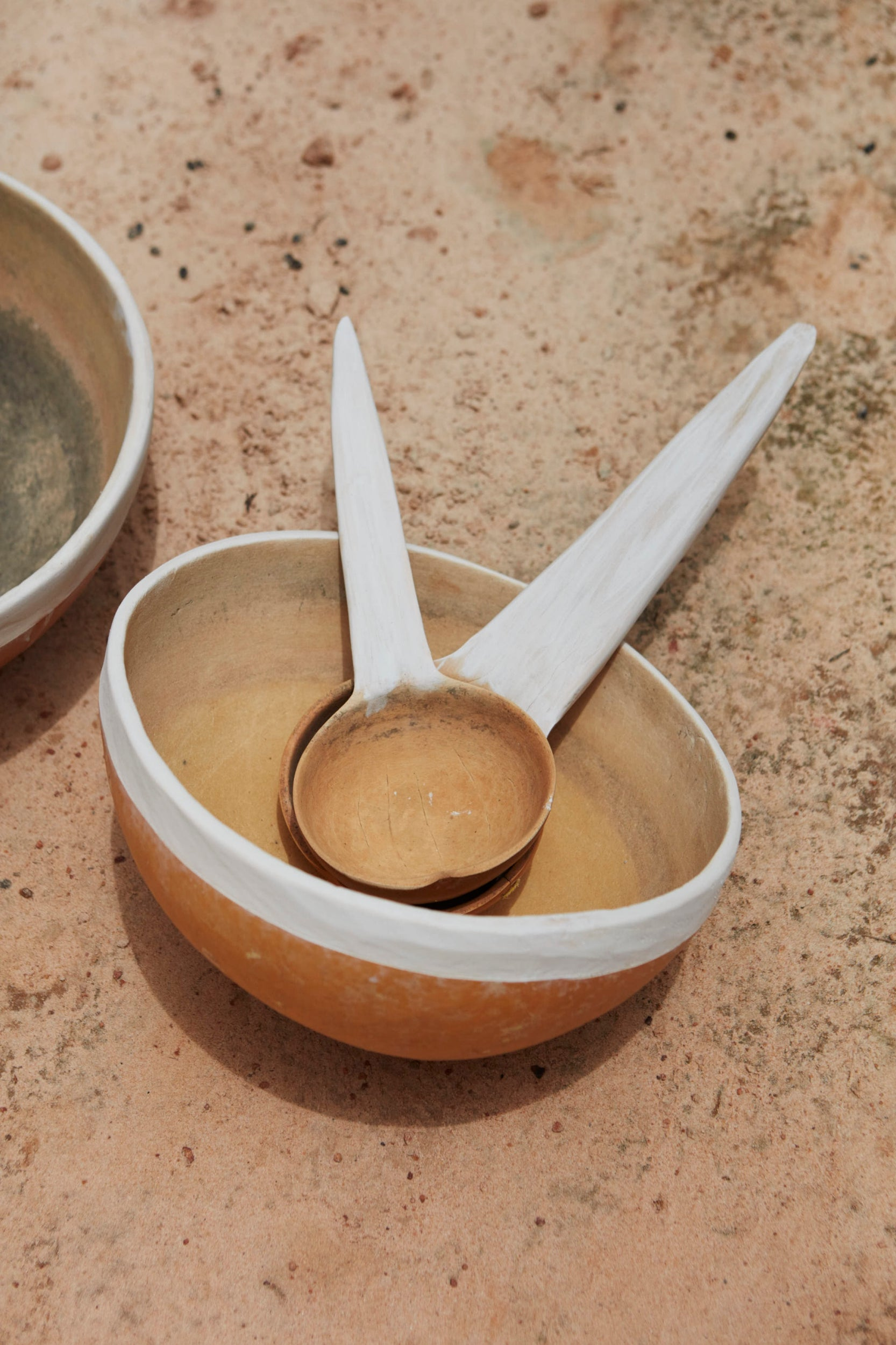 An empty bowl and spoon in Tombokiery village, Niger