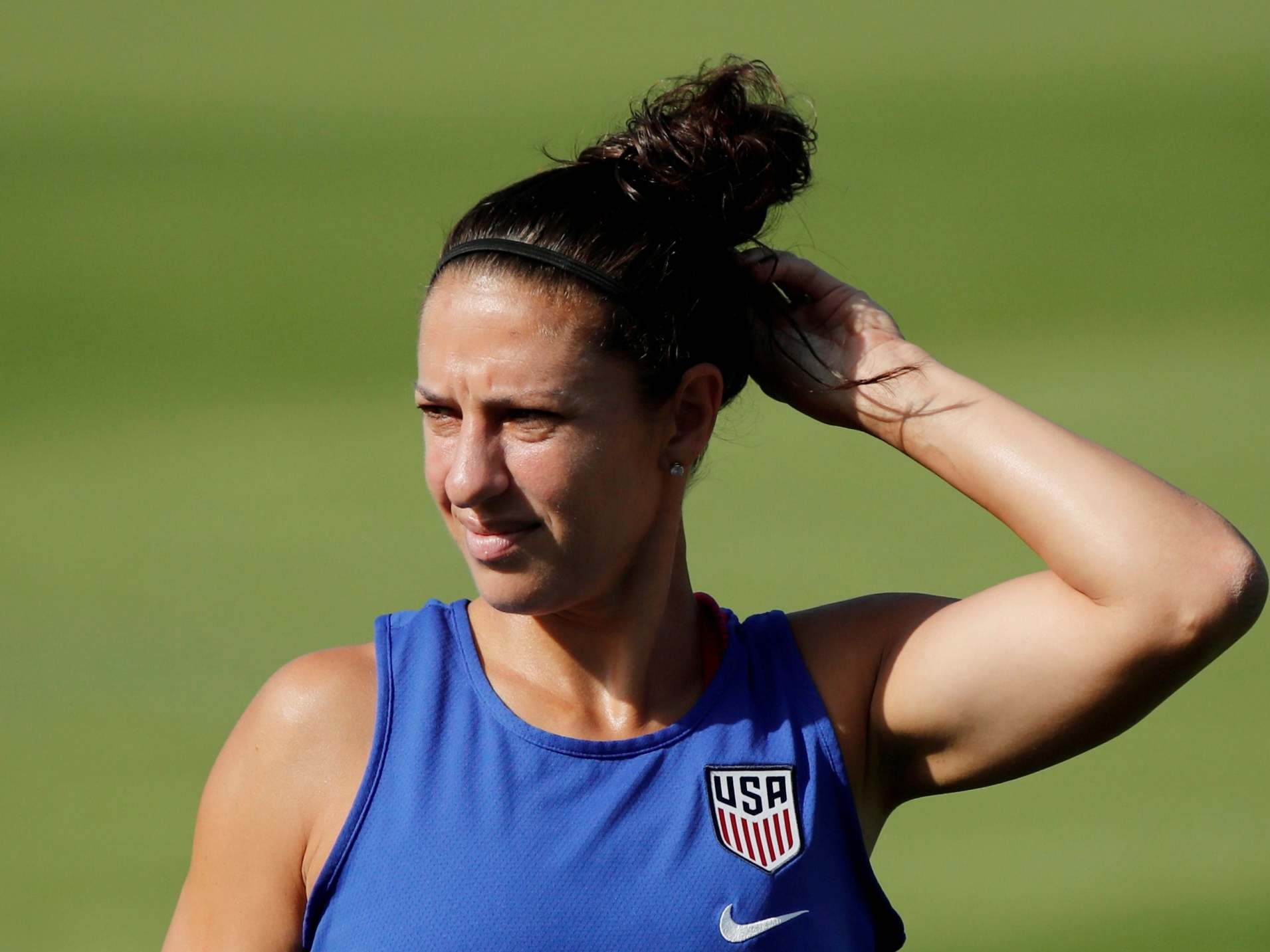 Carli Lloyd: United States star maintains desire to become NFL kicker
