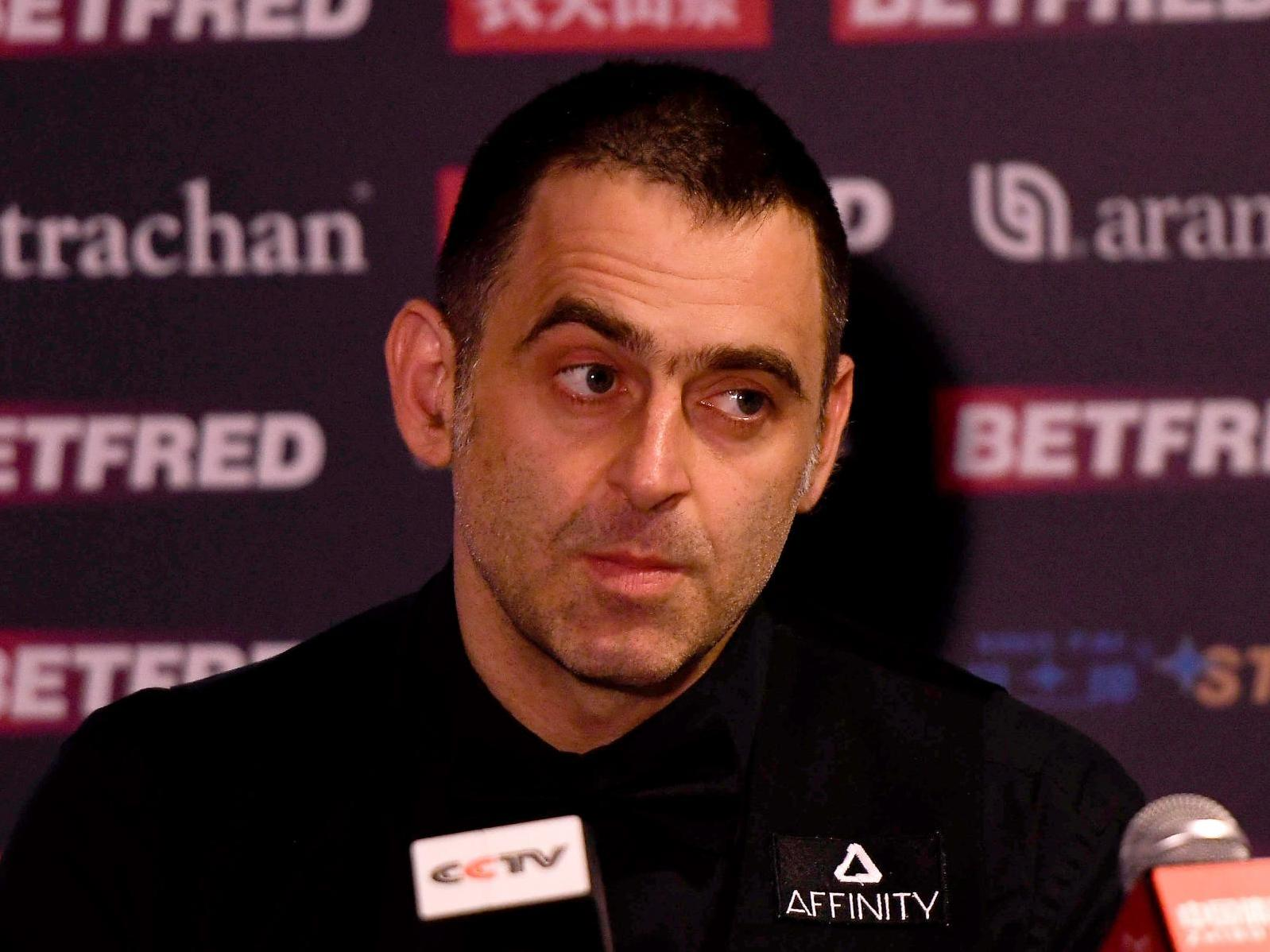 Ronnie O'Sullivan is 'deadly dull' claims Barry Hearn after Crawley English Open rant
