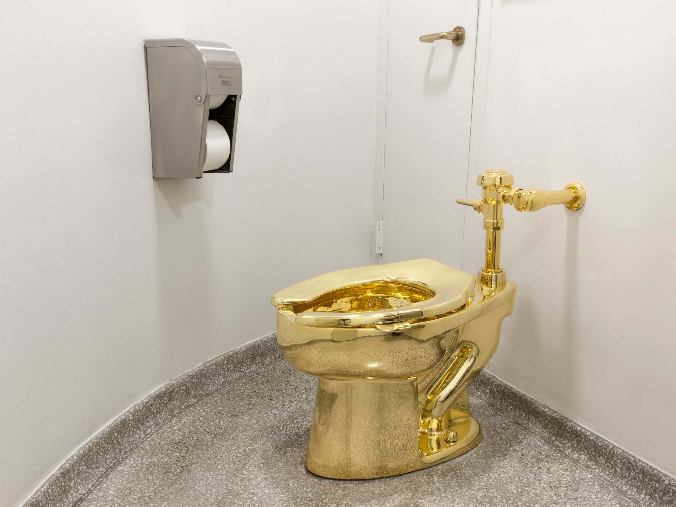 Three arrested over golden toilet theft from Blenheim Palace