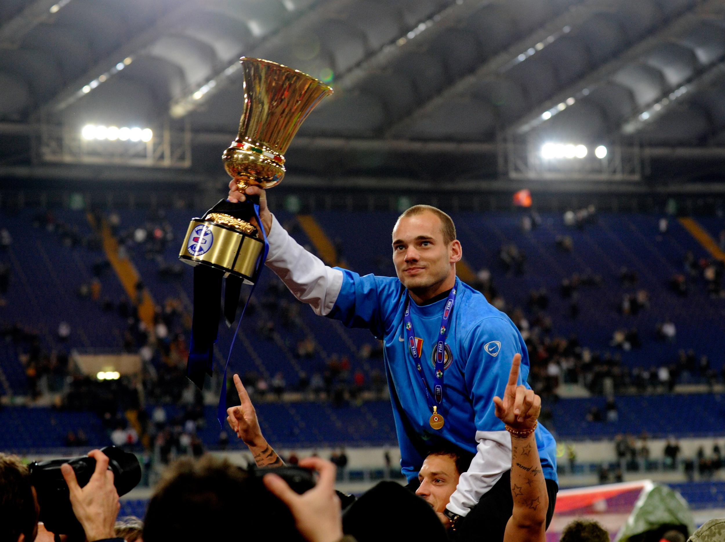 65. Wesley Sneijder