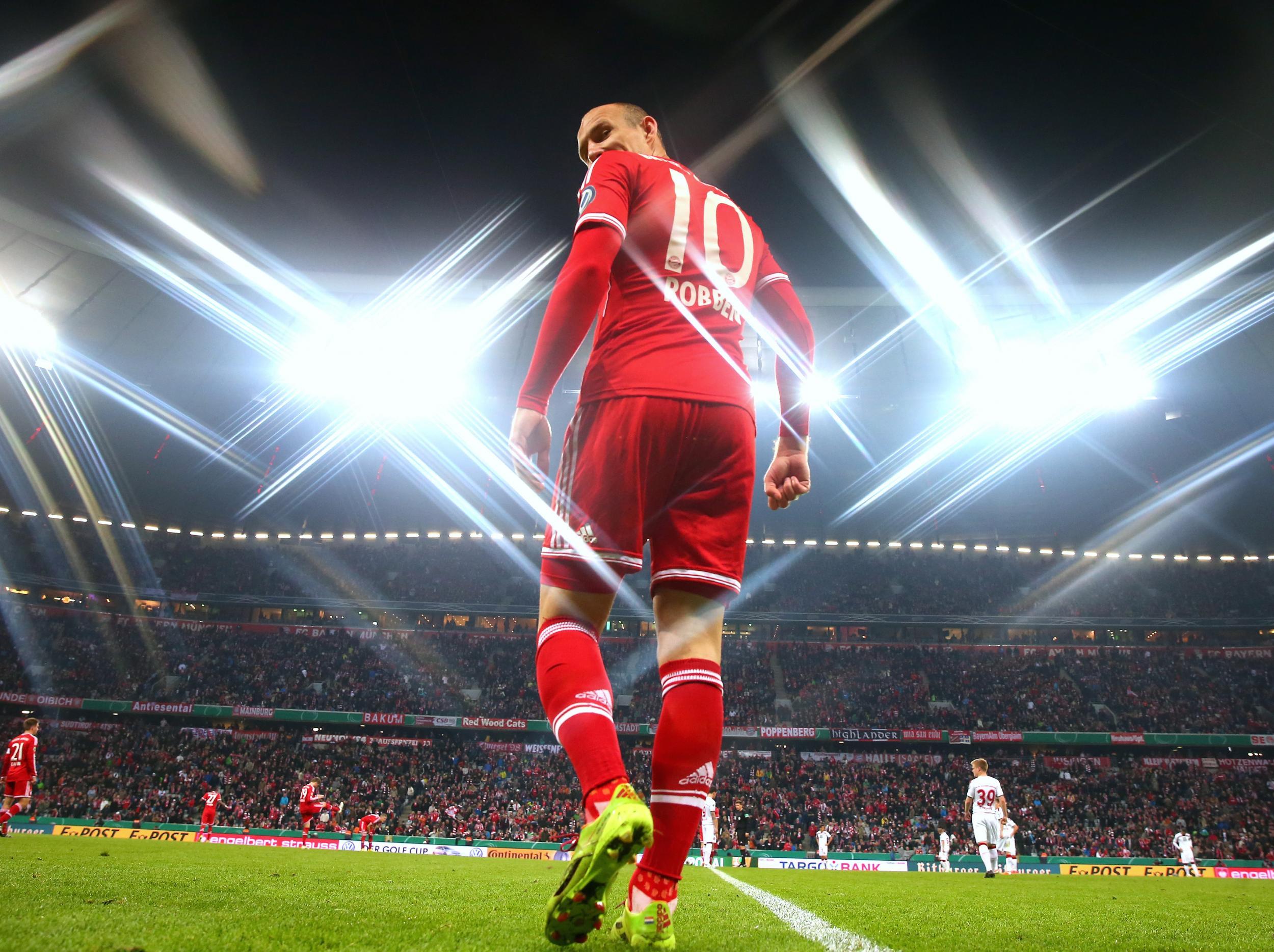 30. Arjen Robben