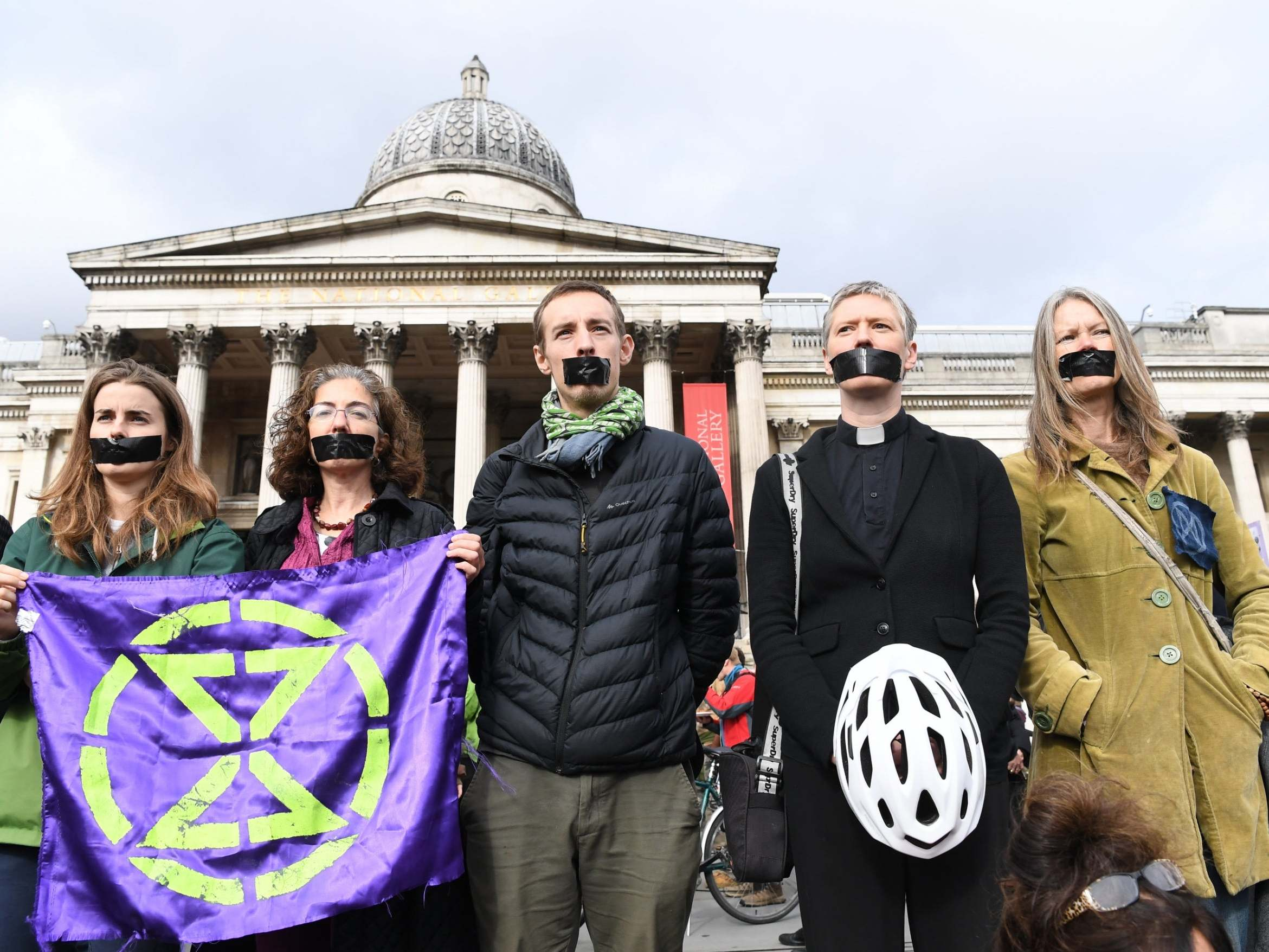 Extinction Rebellion protesters to spray paint Westminster during 'red handed' march