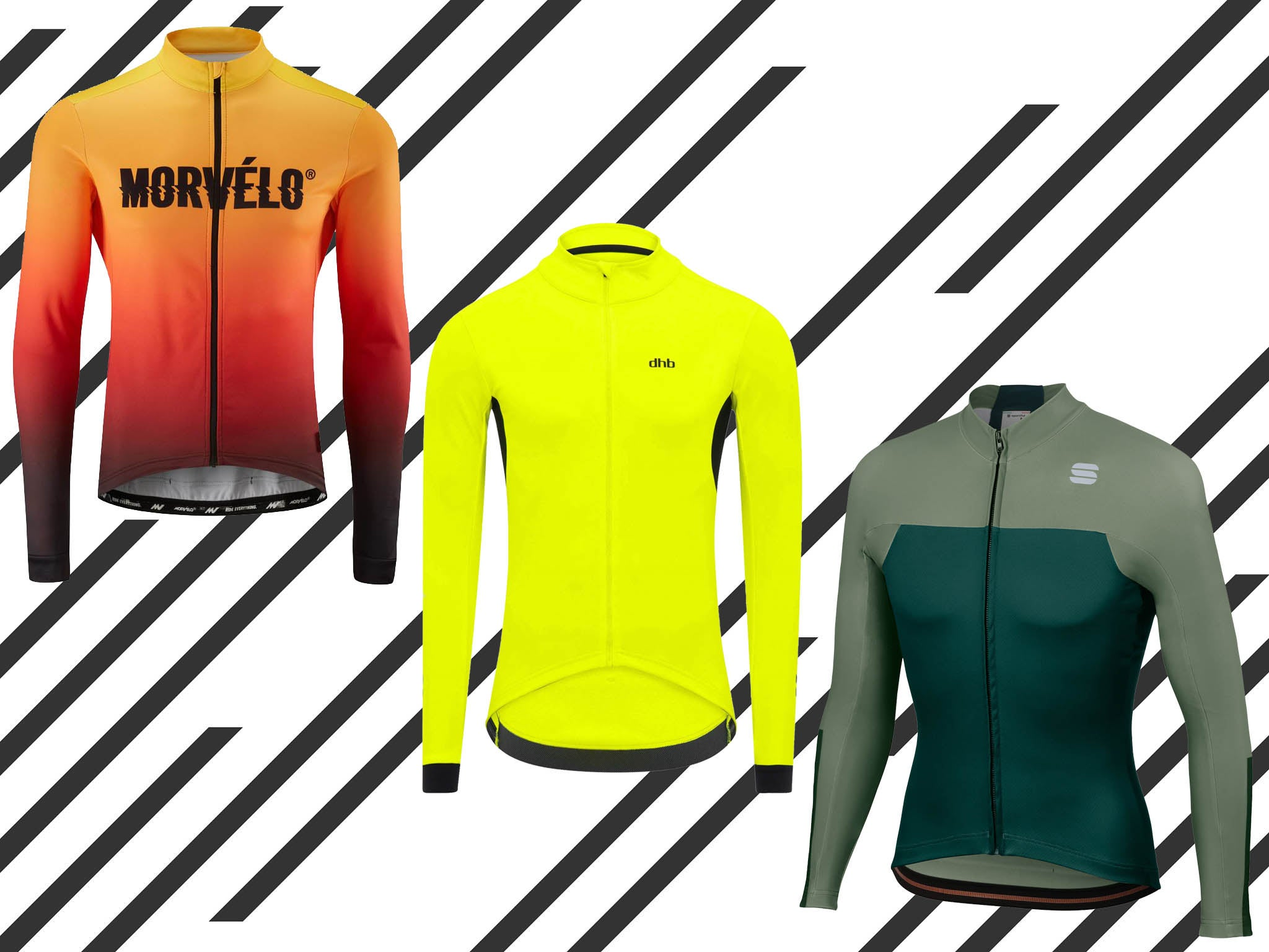10 best men's cycling jerseys for autumn/winter that are weatherproof and warm