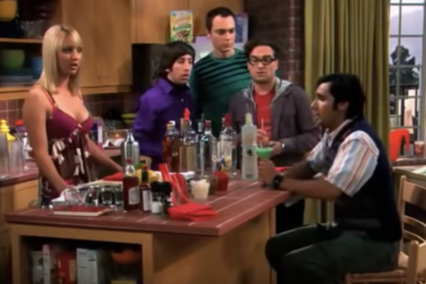 The Big Bang Theory fan uncovers plot hole in first season