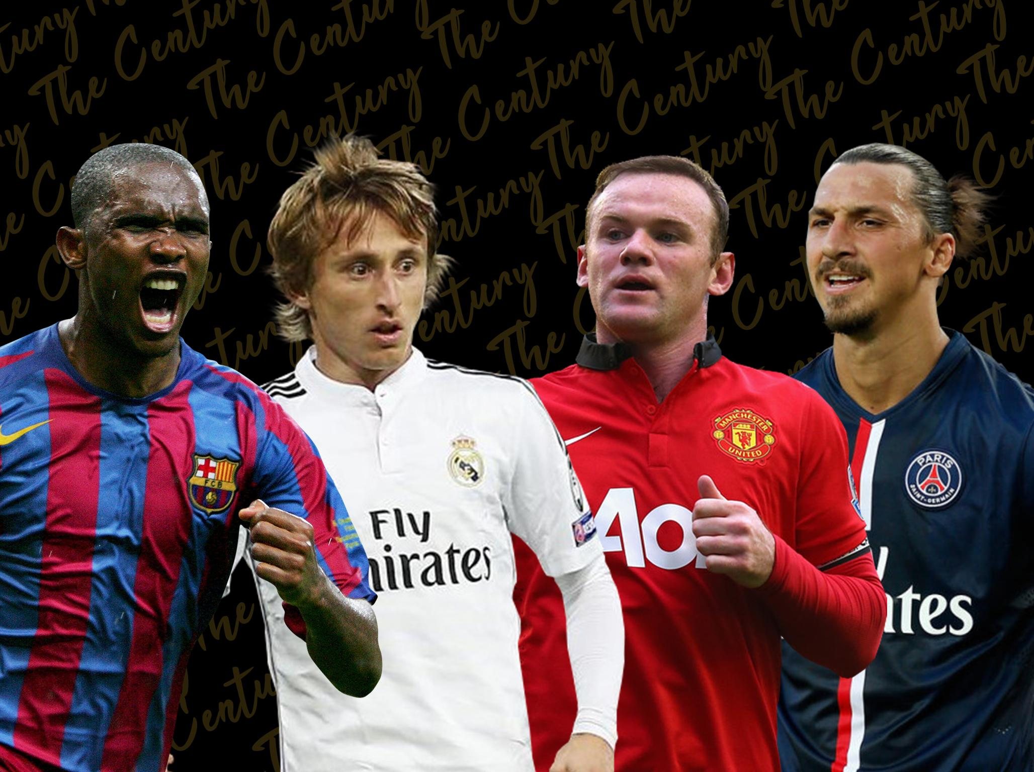 The Century: 40-21 countdown featuring Wayne Rooney, Zlatan Ibrahimovic, Roy Keane and more