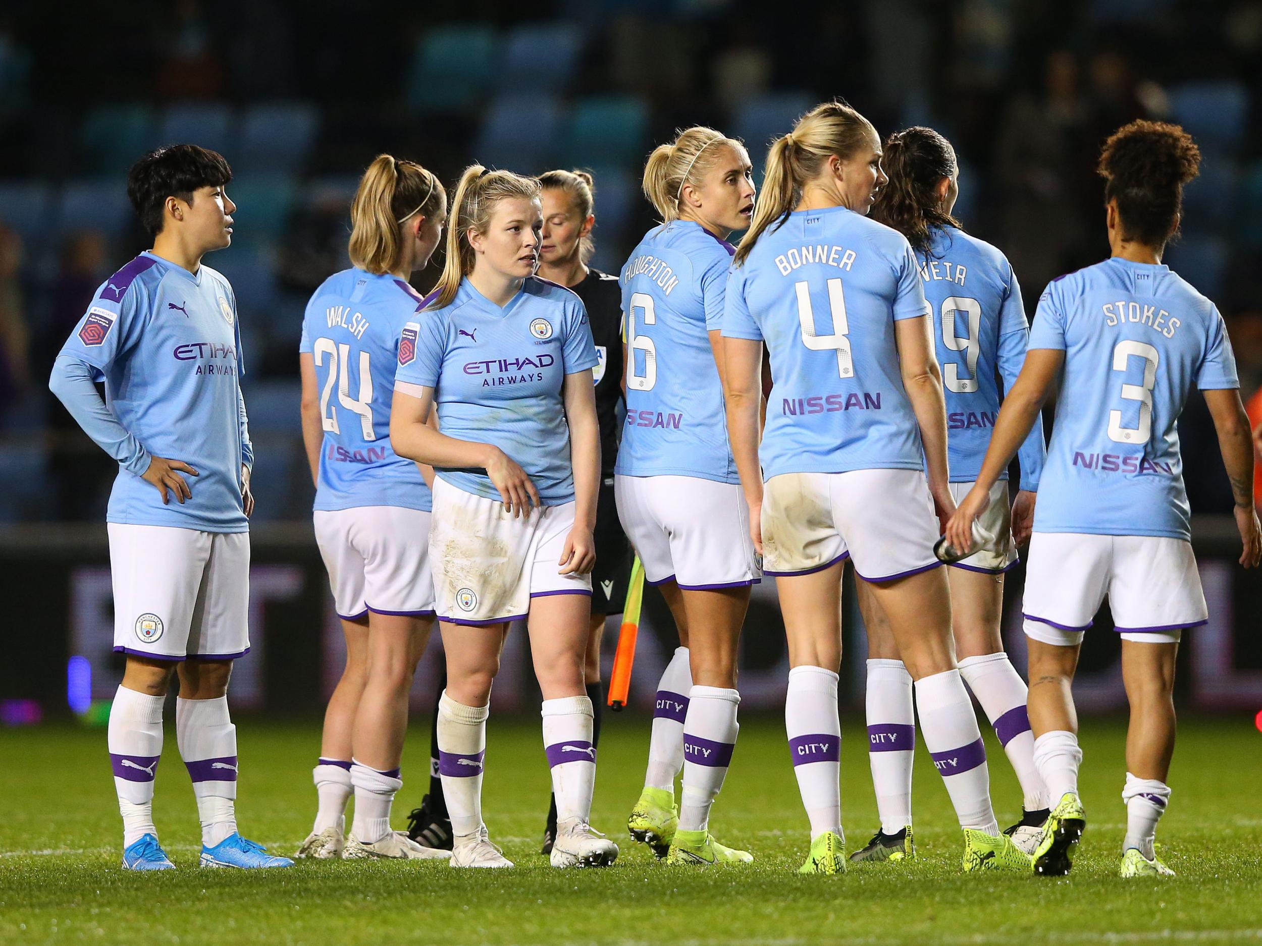 Women's Champions League: Manchester CIty held at home but Arsenal set for quarter-finals