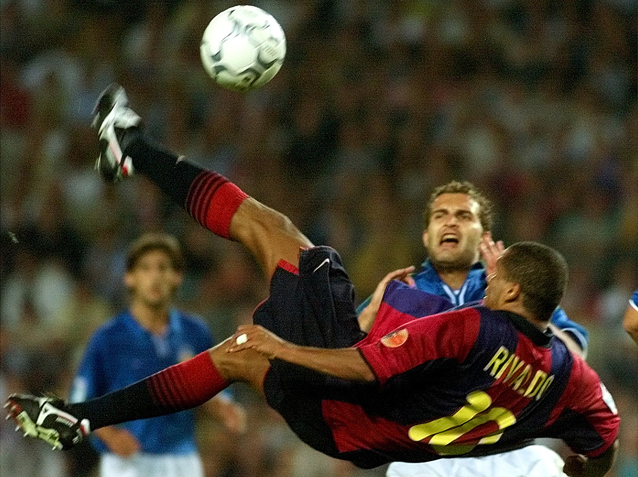 Rivaldo remembers the greatest hat-trick ever scored