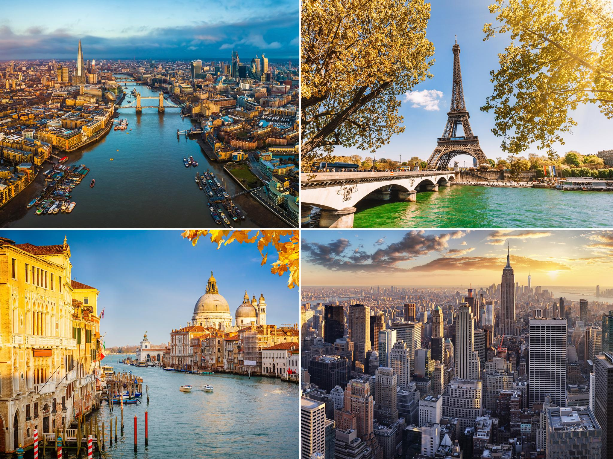 The most beautiful cities in the world revealed