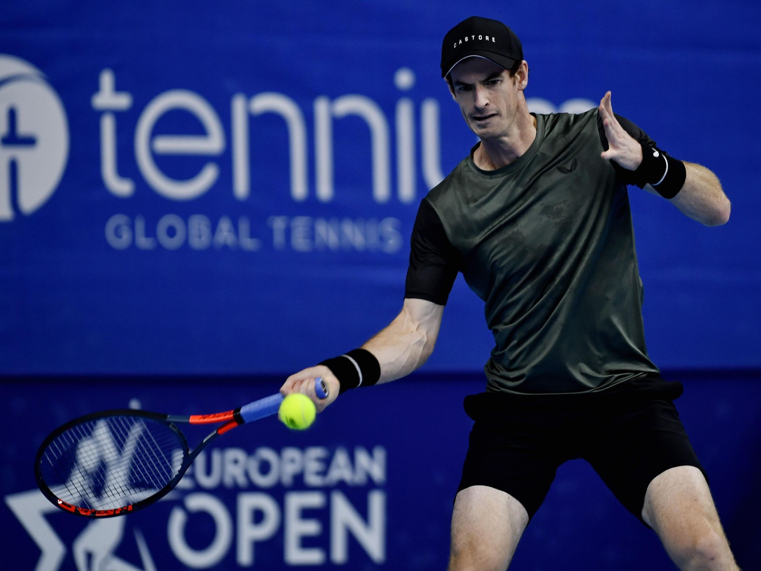 Greg Rusedski warns Andy Murray that it is a 'long road back' to the top of tennis despite promising return