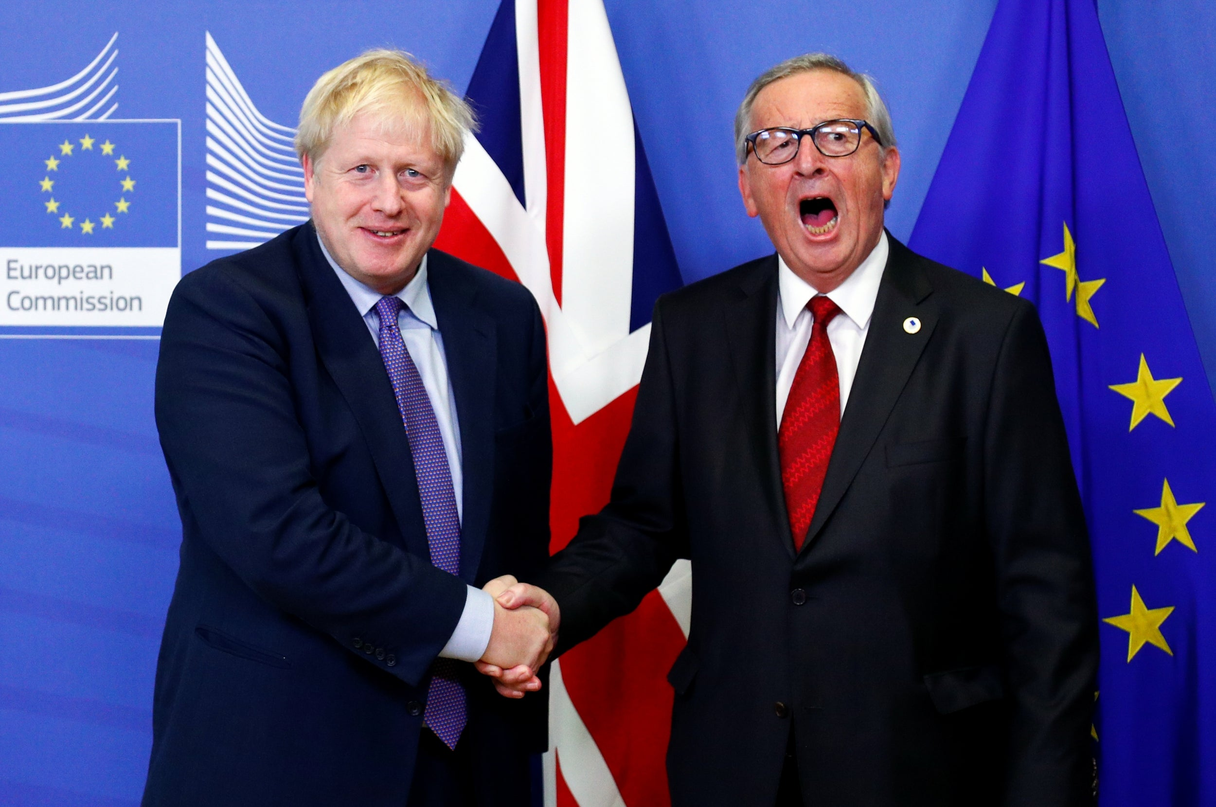 It took less than four minutes for Boris Johnson's Brexit deal to die