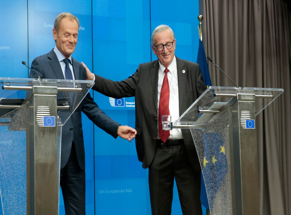 The Donald Tusk–Jean-Claude Juncker double act will be familiar to anyone who has followed Brexit closely