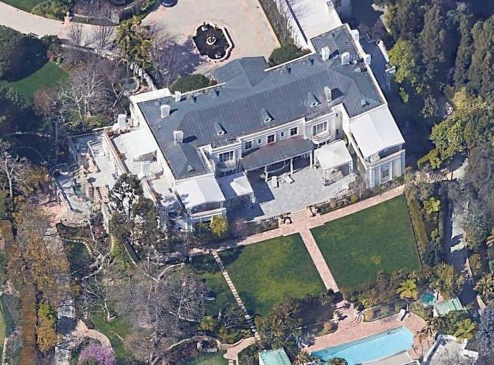 Casa Encantada in Bel Air, Los Angeles