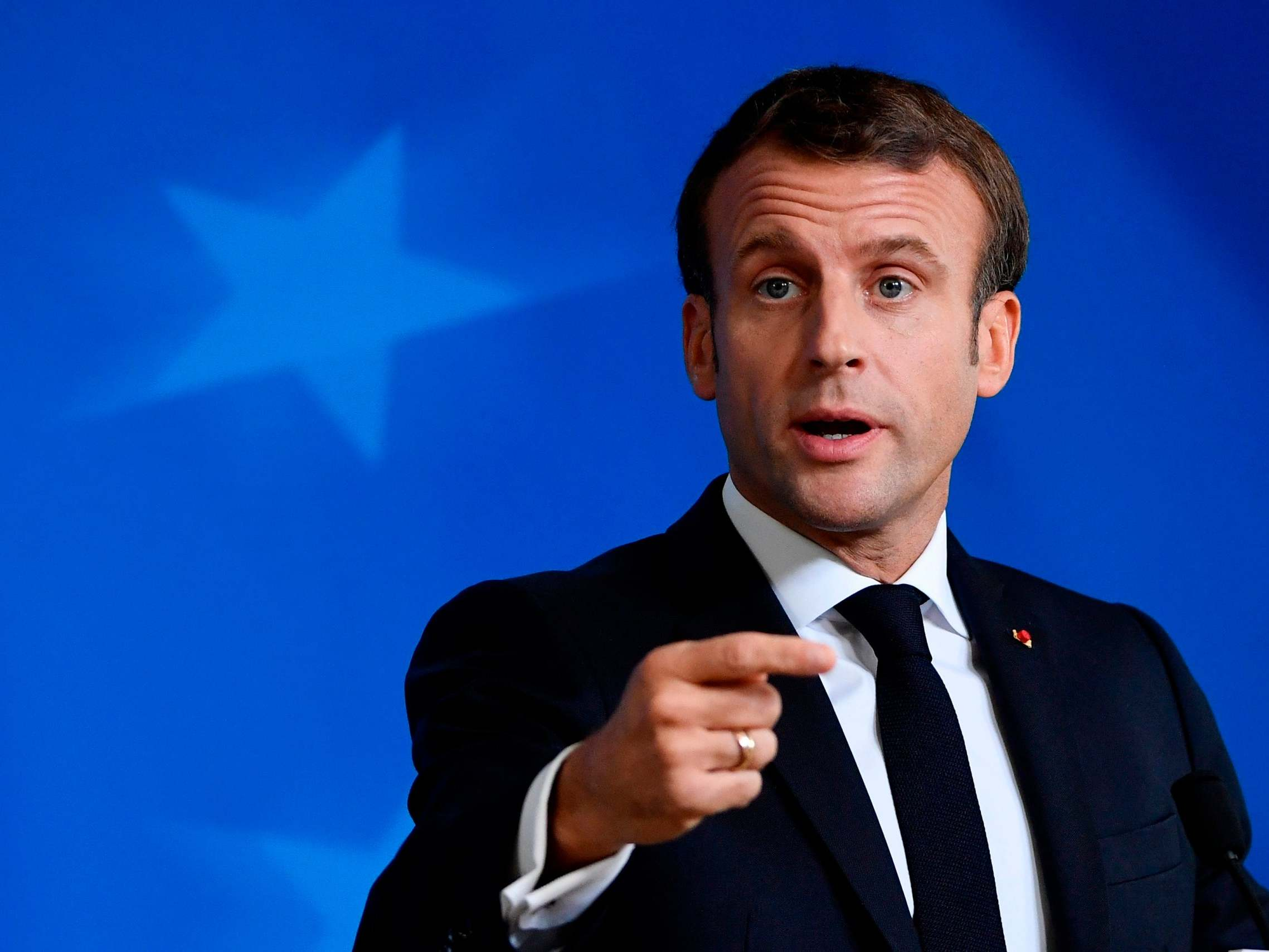Macron Plans To Bar Refugees From Accessing Medical Care The Independent The Independent