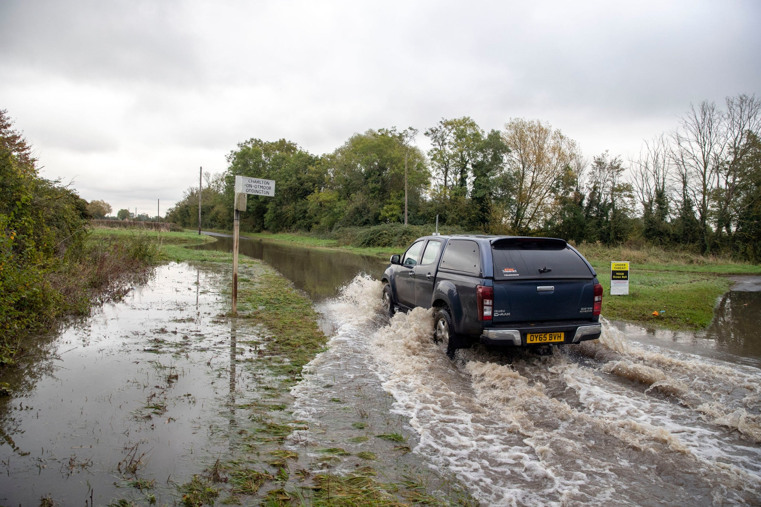 UK weather forecast: Flood alerts issued in Scotland after 24 hours of heavy rain