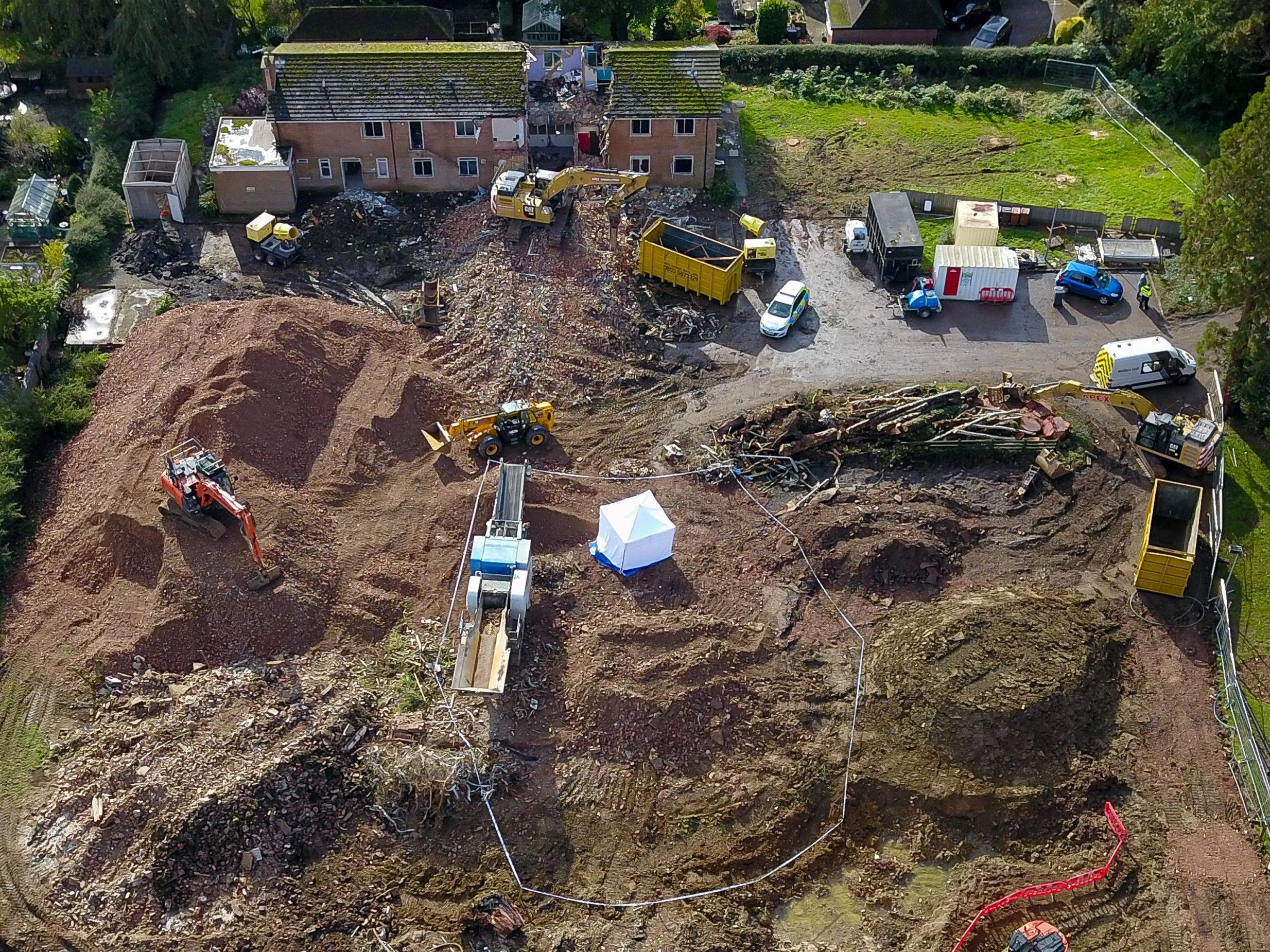 Human bones found on site of former care home in Leicestershire