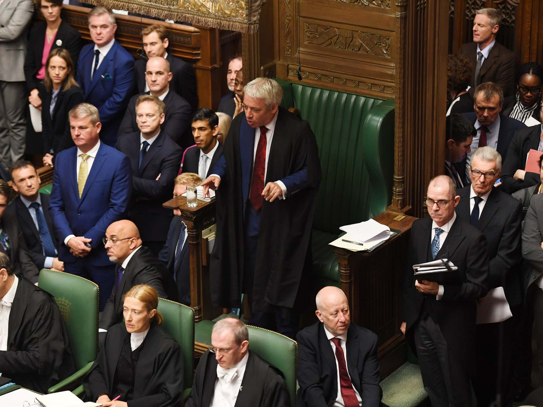 Brexit: Speaker John Bercow 'is ready to sign letter' asking for extension if asked by courts or parliament