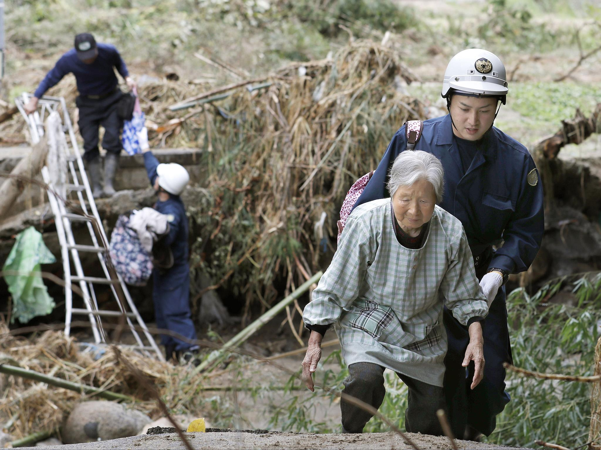 'Everything is gone': Japan left reeling from worst storm in decades