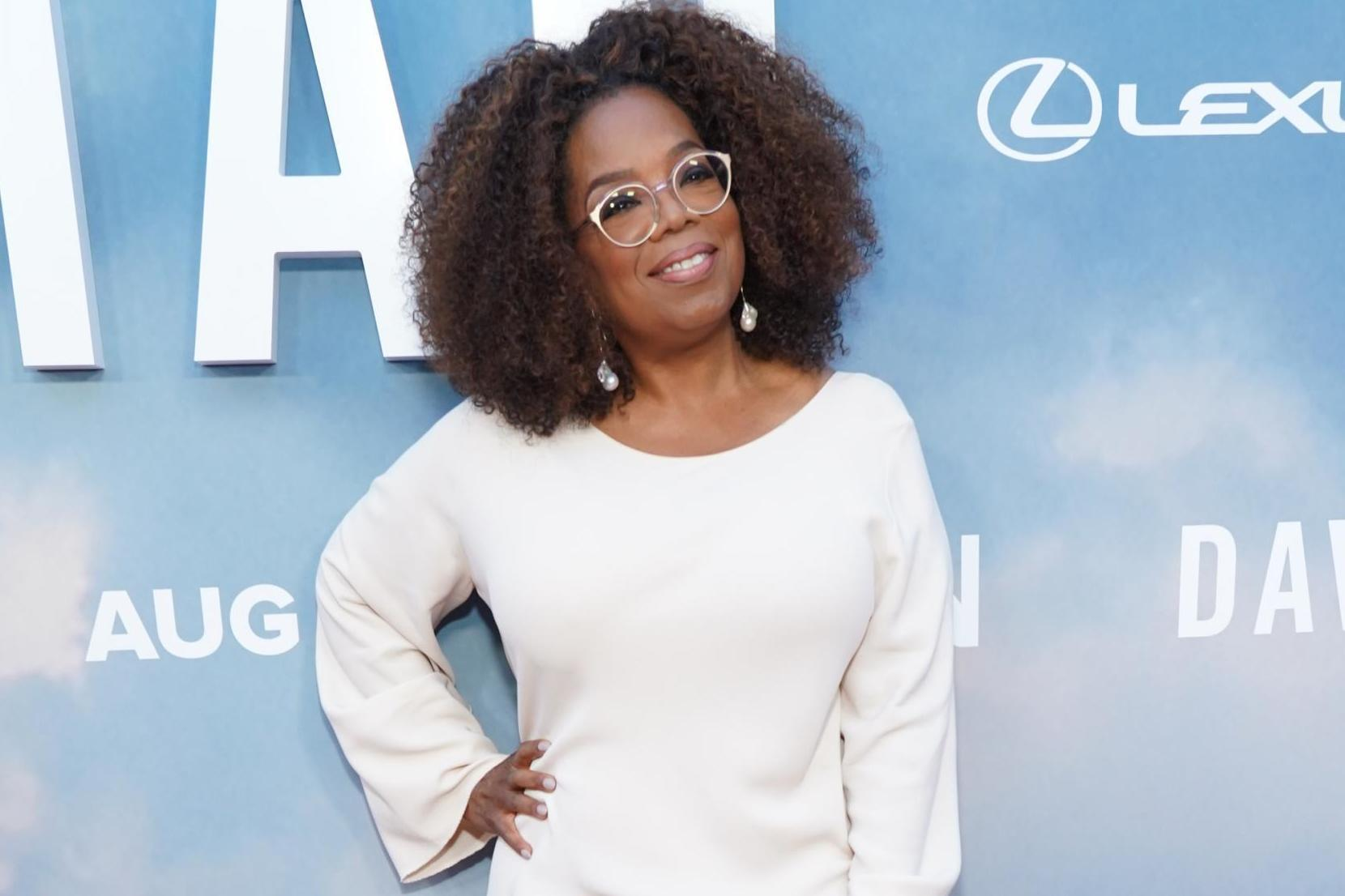 Oprah buys college student new phone after joking about his broken one