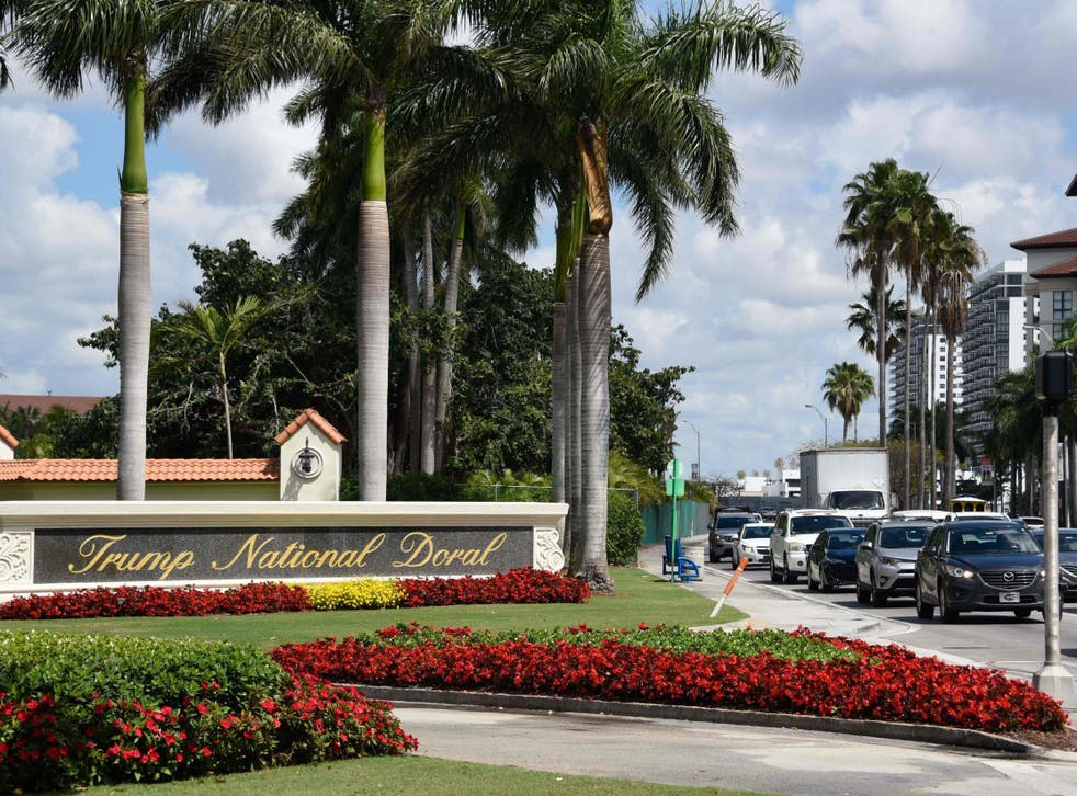 Mr Trump has awarded hosting of the next G7 summit to one of his own Florida golf clubs, the White House said on Thursday