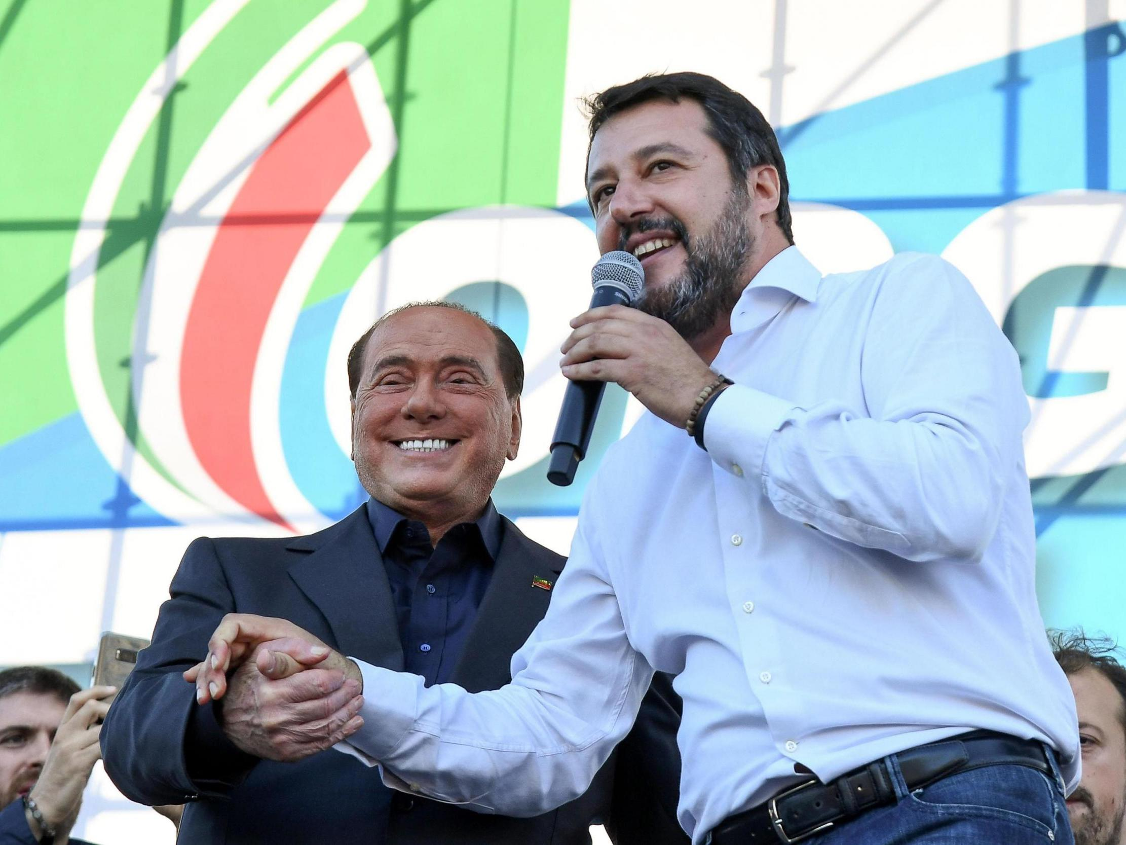 Salvini's far-right rallies in Rome to protest against Italy government