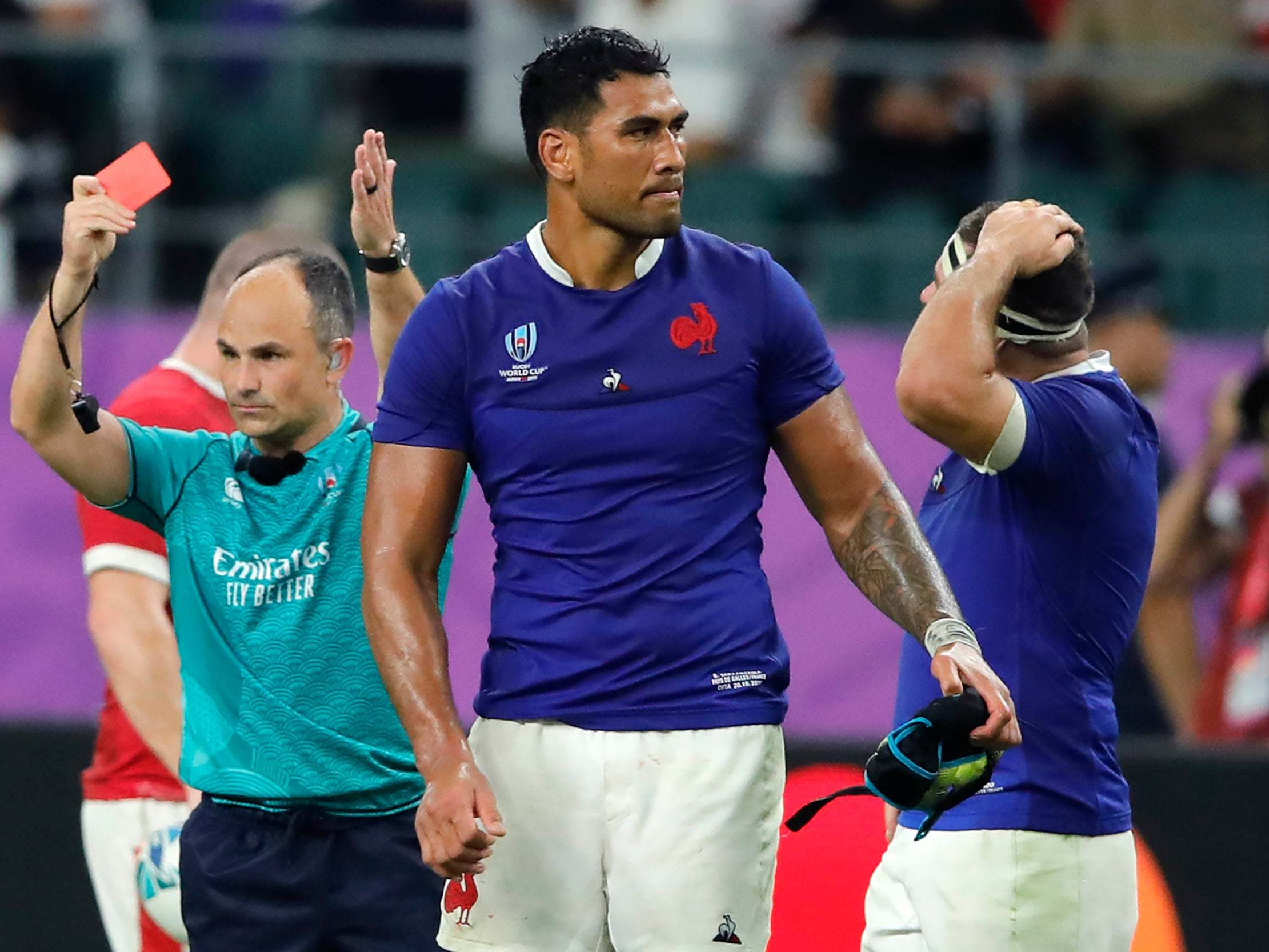 Wales vs France, Rugby World Cup 2019: Five things we learned as Sebastien Vahaamahina red card costs Les Bleus