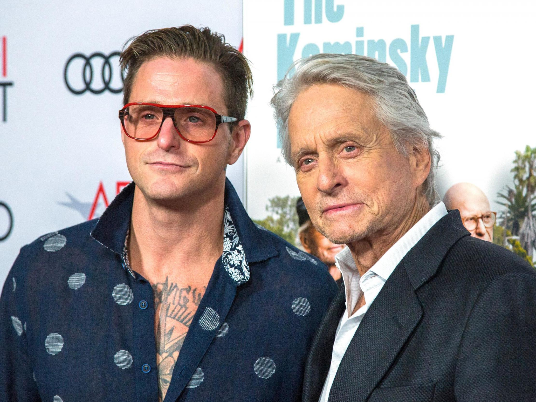 Michael Douglas would ask son Cameron to hand out drugs at parties 'as a really young kid', memoir claims
