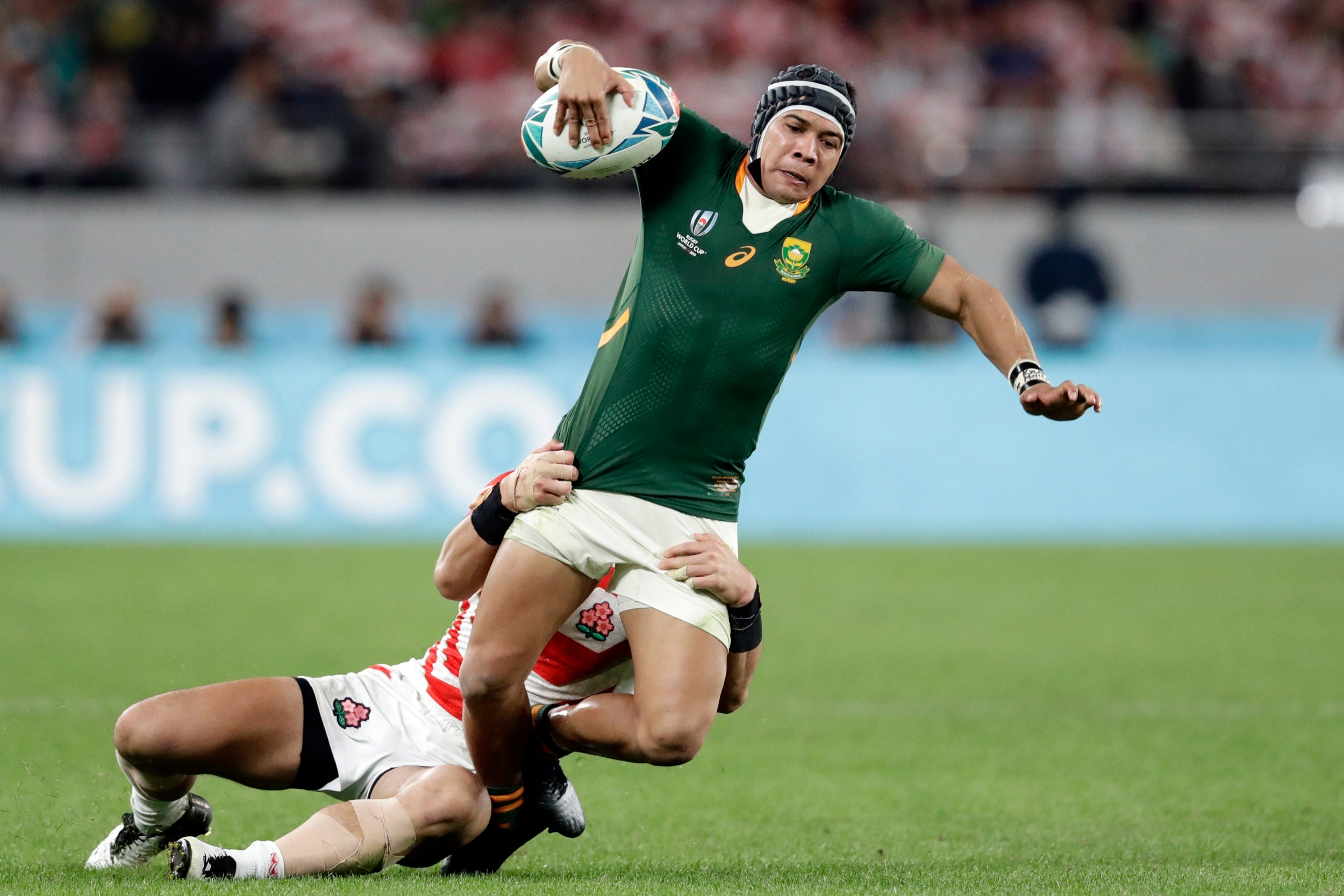 England vs South Africa team news: Cheslin Kolbe returns as Rassie Erasmus names side for Rugby World Cup final