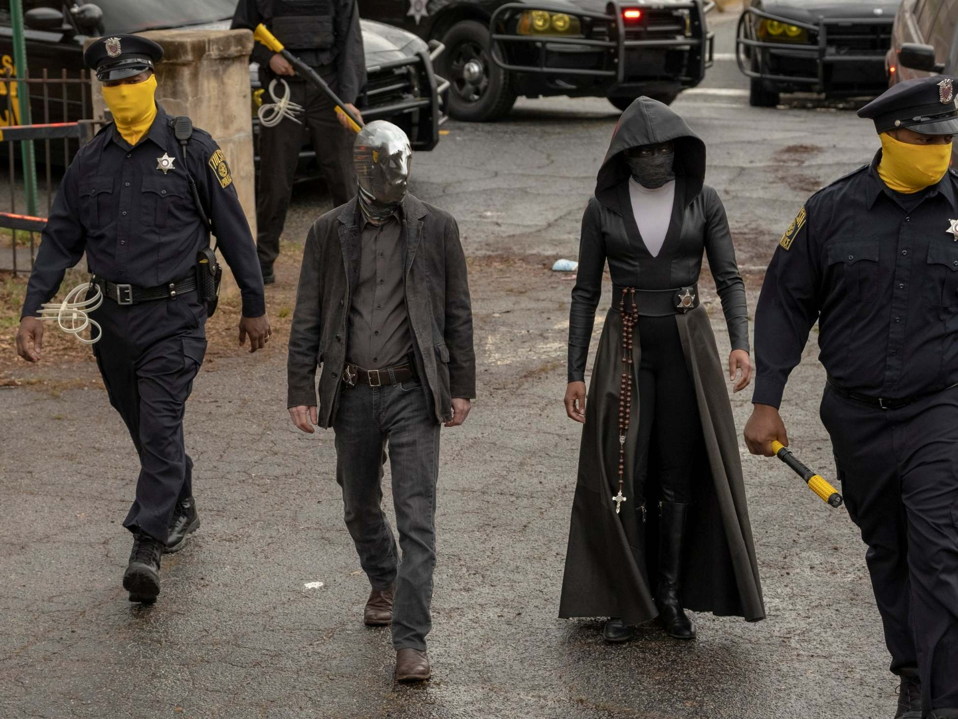 Watchmen review: One of the most unusual explorations of the superhero concept on television