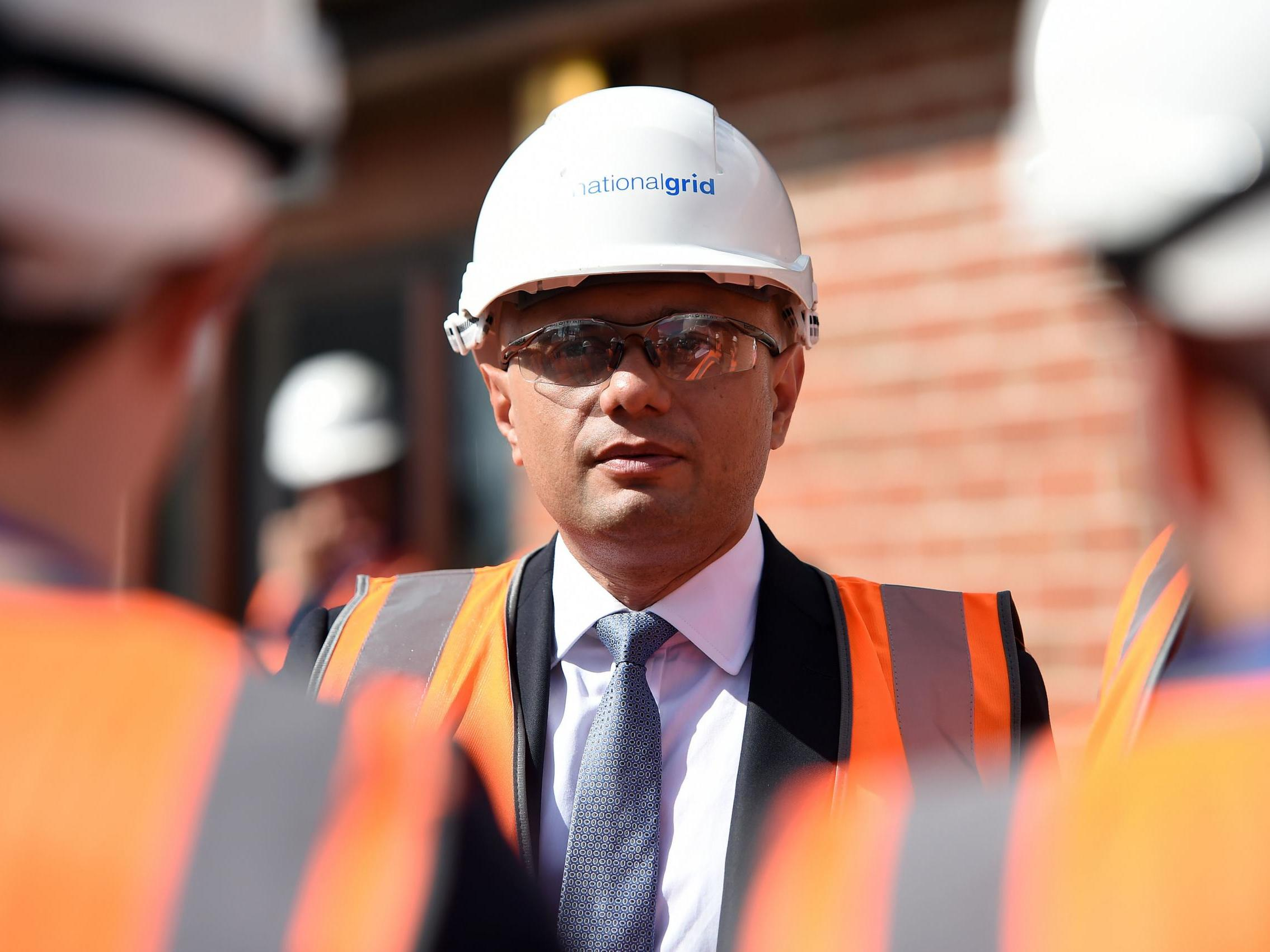 Sajid Javid admits some businesses will be hit by Brexit as he warns…