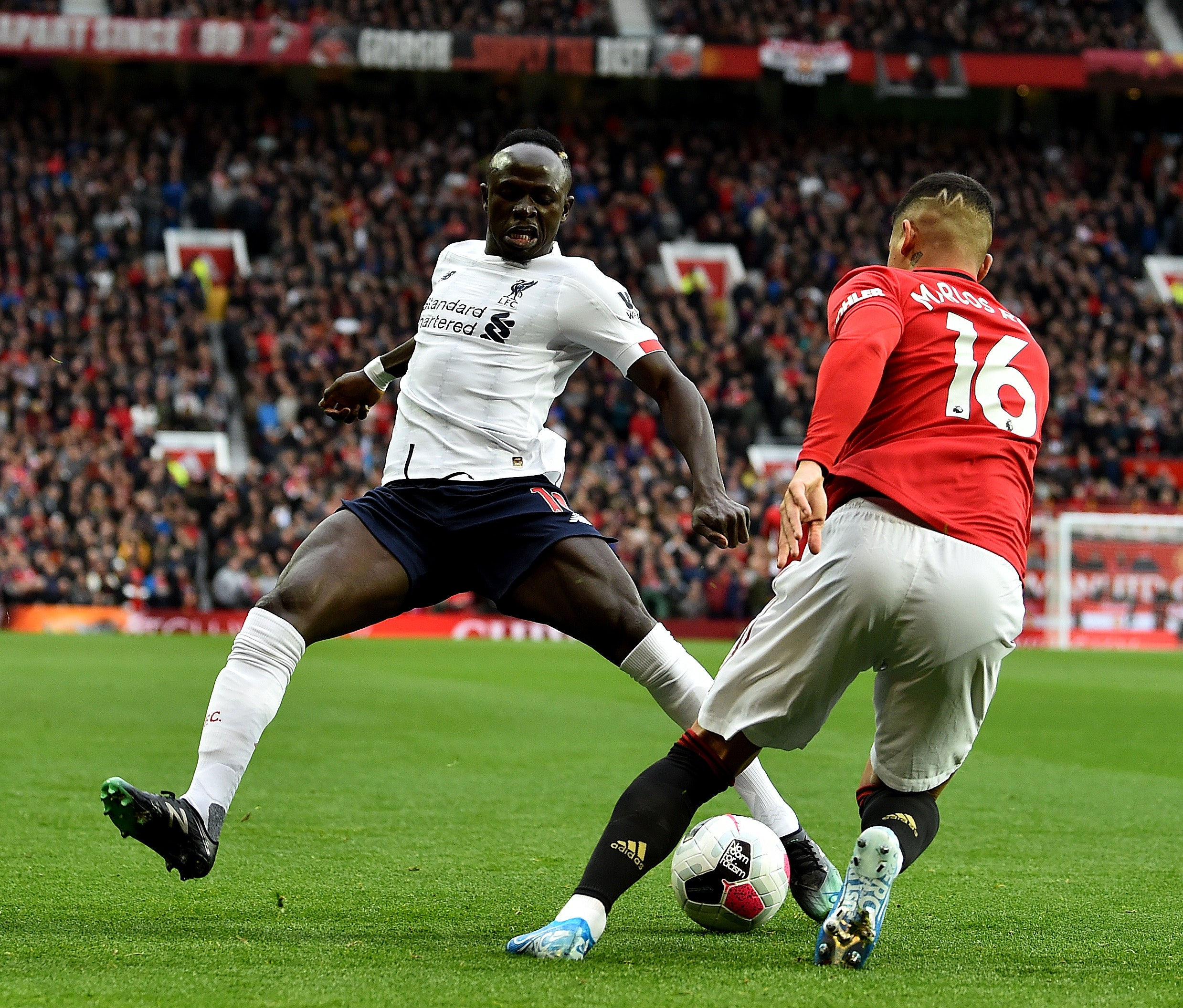 Image result for marcos rojo vs liverpool