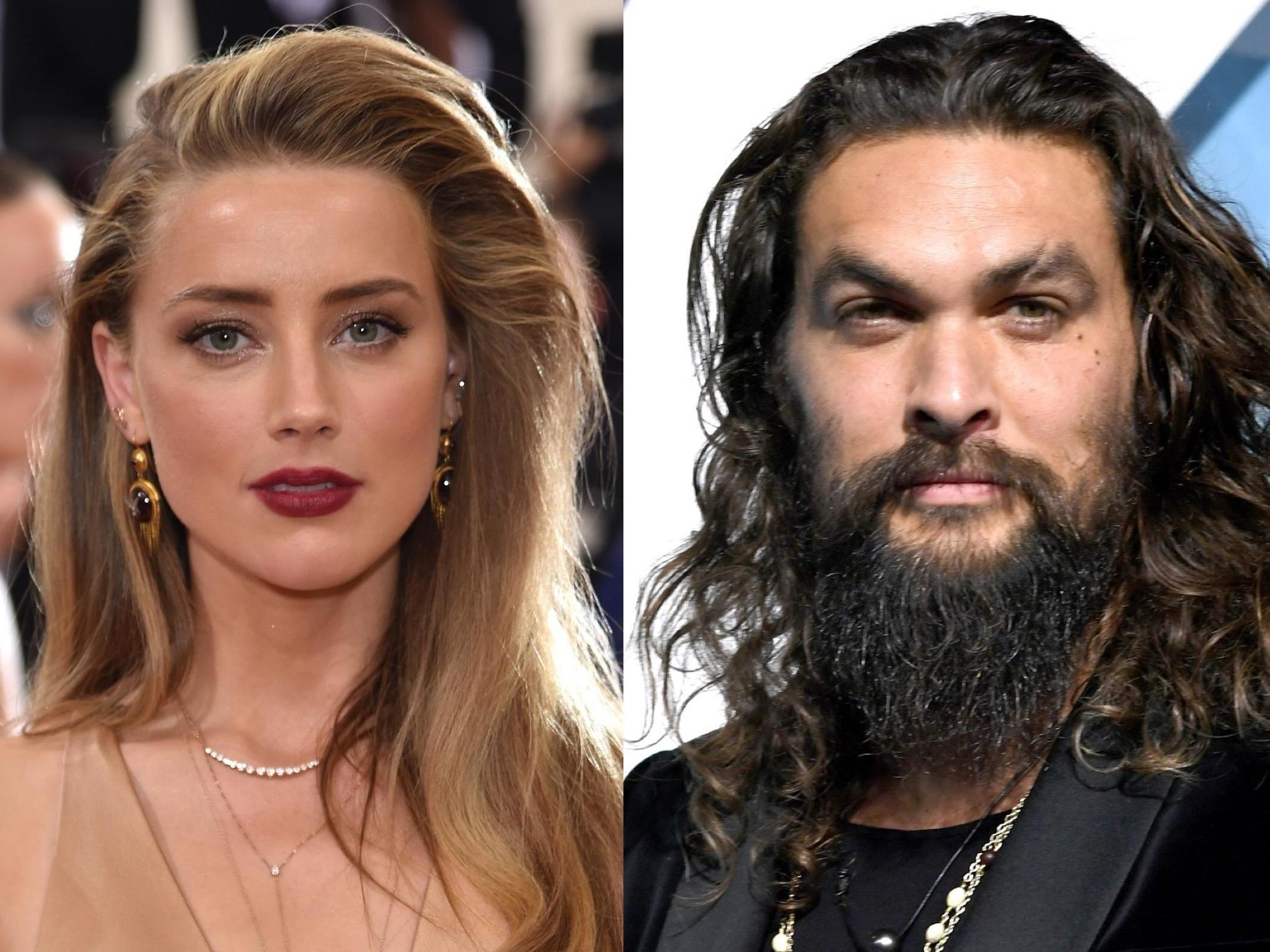 Amber Heard Nue amber heard posts jason momoa photo to criticise instagram