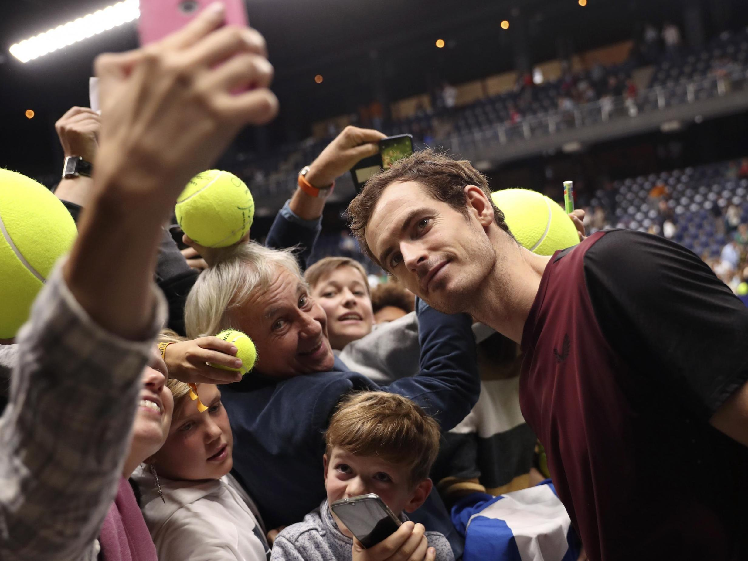 Andy Murray looking to the future after remarkable European Open vic…
