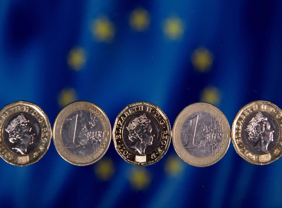 The pound was under pressure this morning as currency markets processed a weekend of political drama