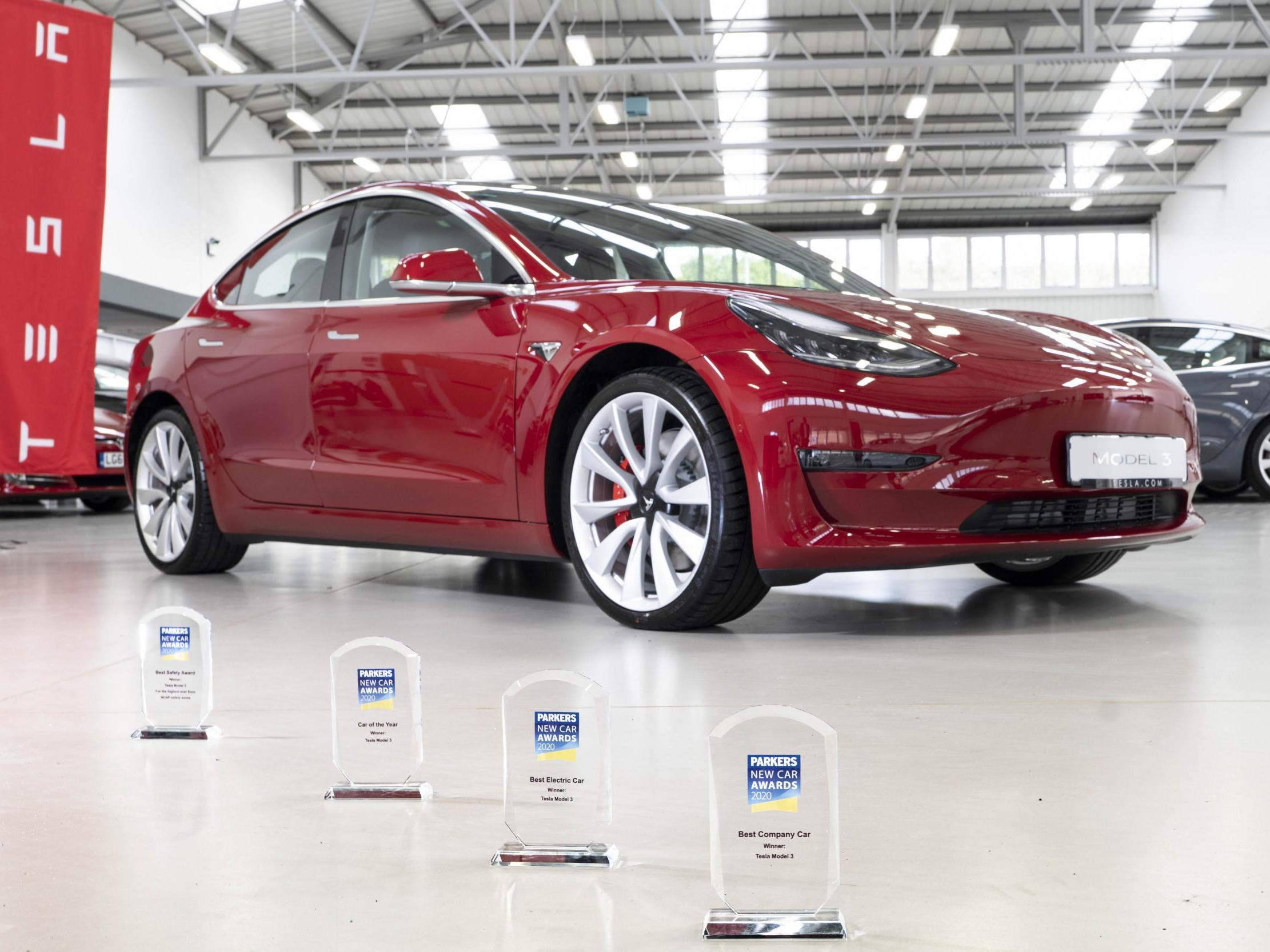 Tesla's cheapest electric vehicle wins top prize at car