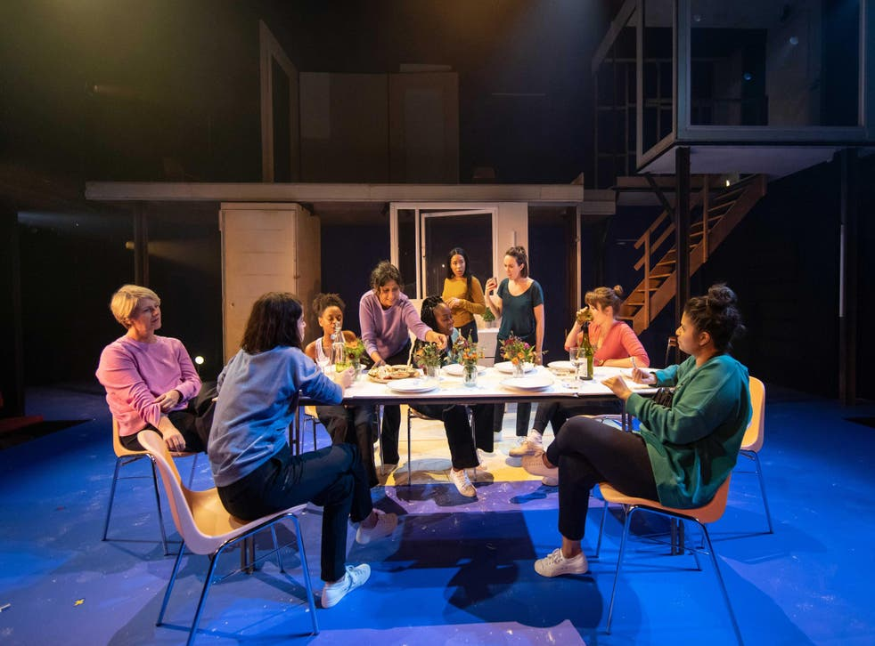 The company in [BLANK] at the Donmar Warehouse