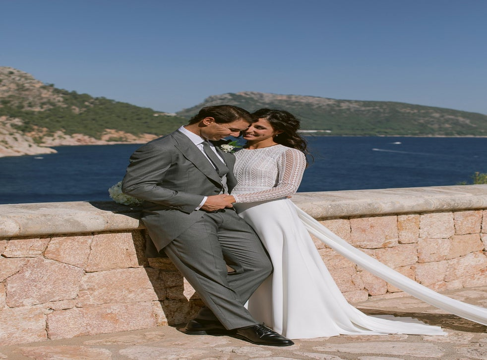 Rafael Nadal Releases First Photos From Wedding To Mery Perello The Independent The Independent