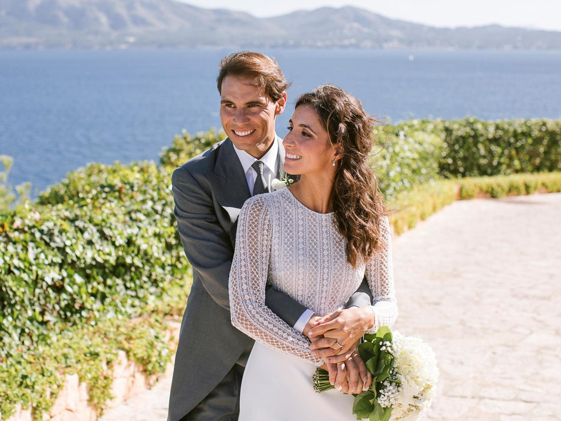 Photos from Rafael Nadal's wedding to Mery Perelló released