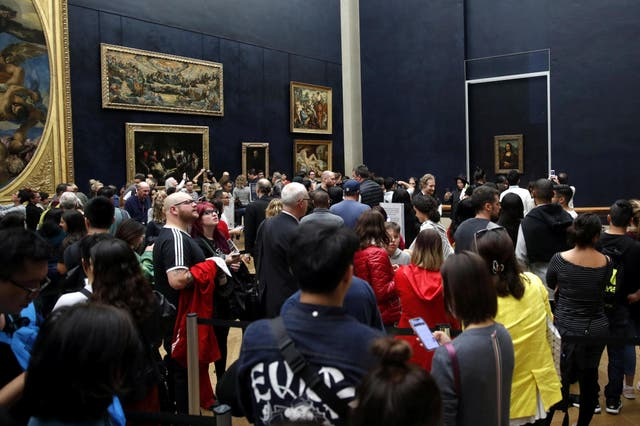 Video:  The Mona Lisa voted the world's most disappointing tourist attraction by Britons
