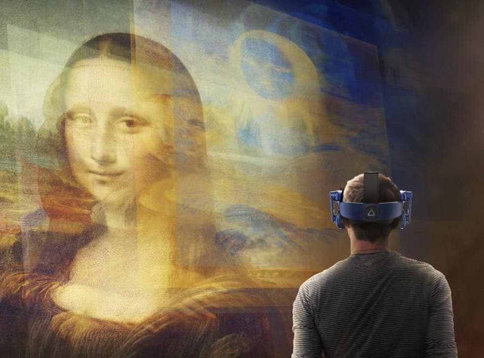 The digital experiment is part of an effort to broaden the Louvre's appeal