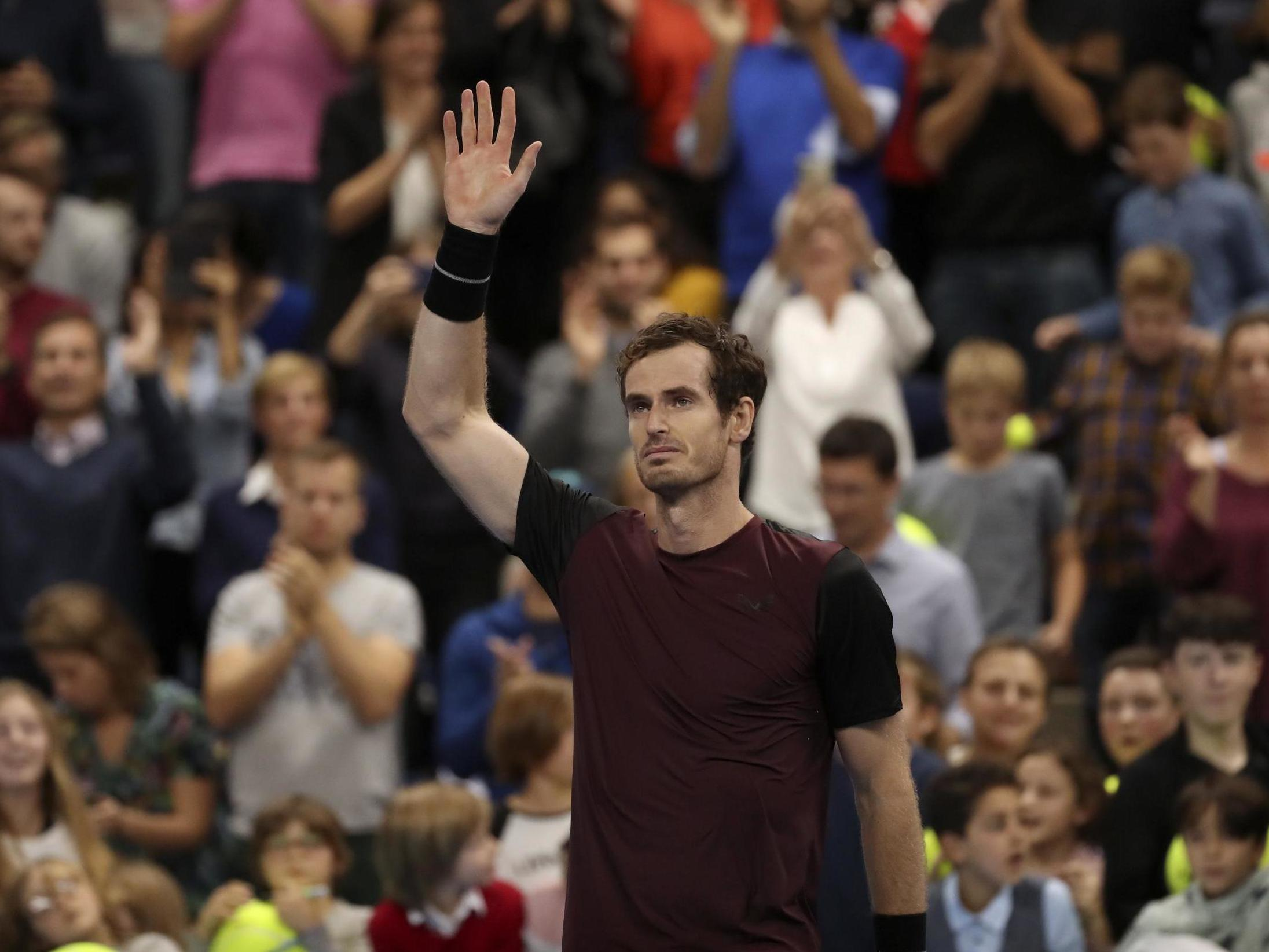 Andy Murray continues to defy everyone's expectations but his own