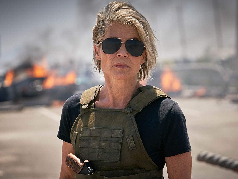 Linda Hamilton: 'Everyone's terrified of James Cameron. I'm not'