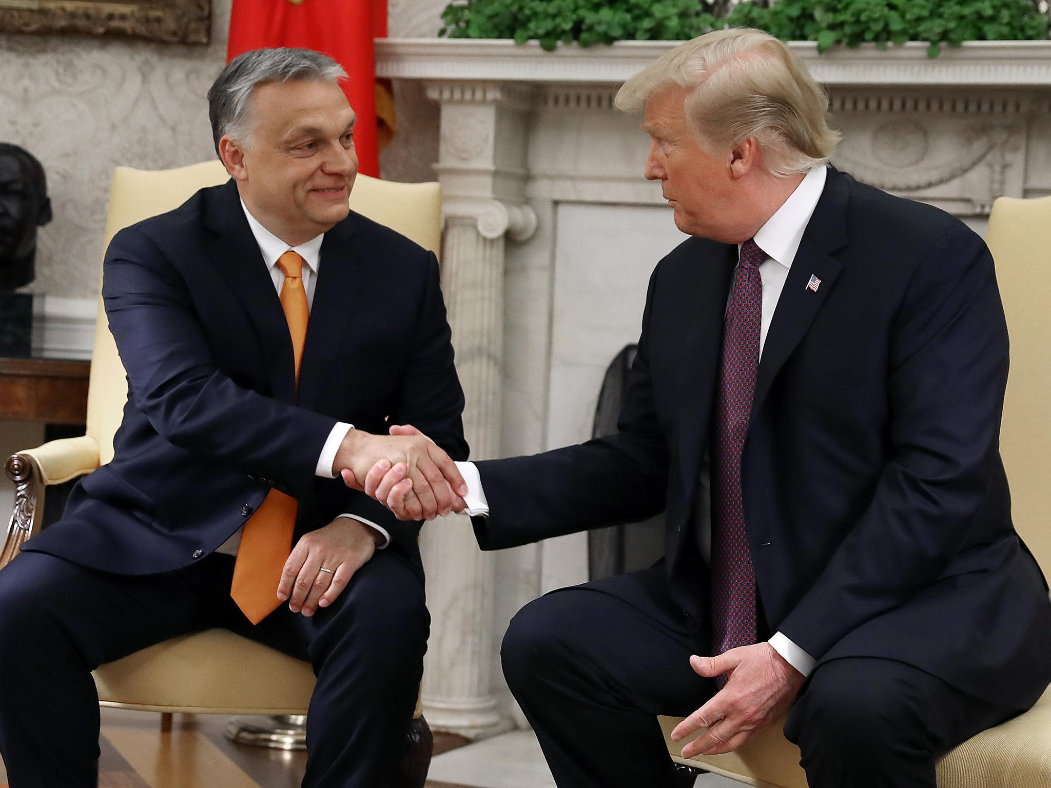Hungary's far-right leader gave Trump harsh criticism of Ukraine day…