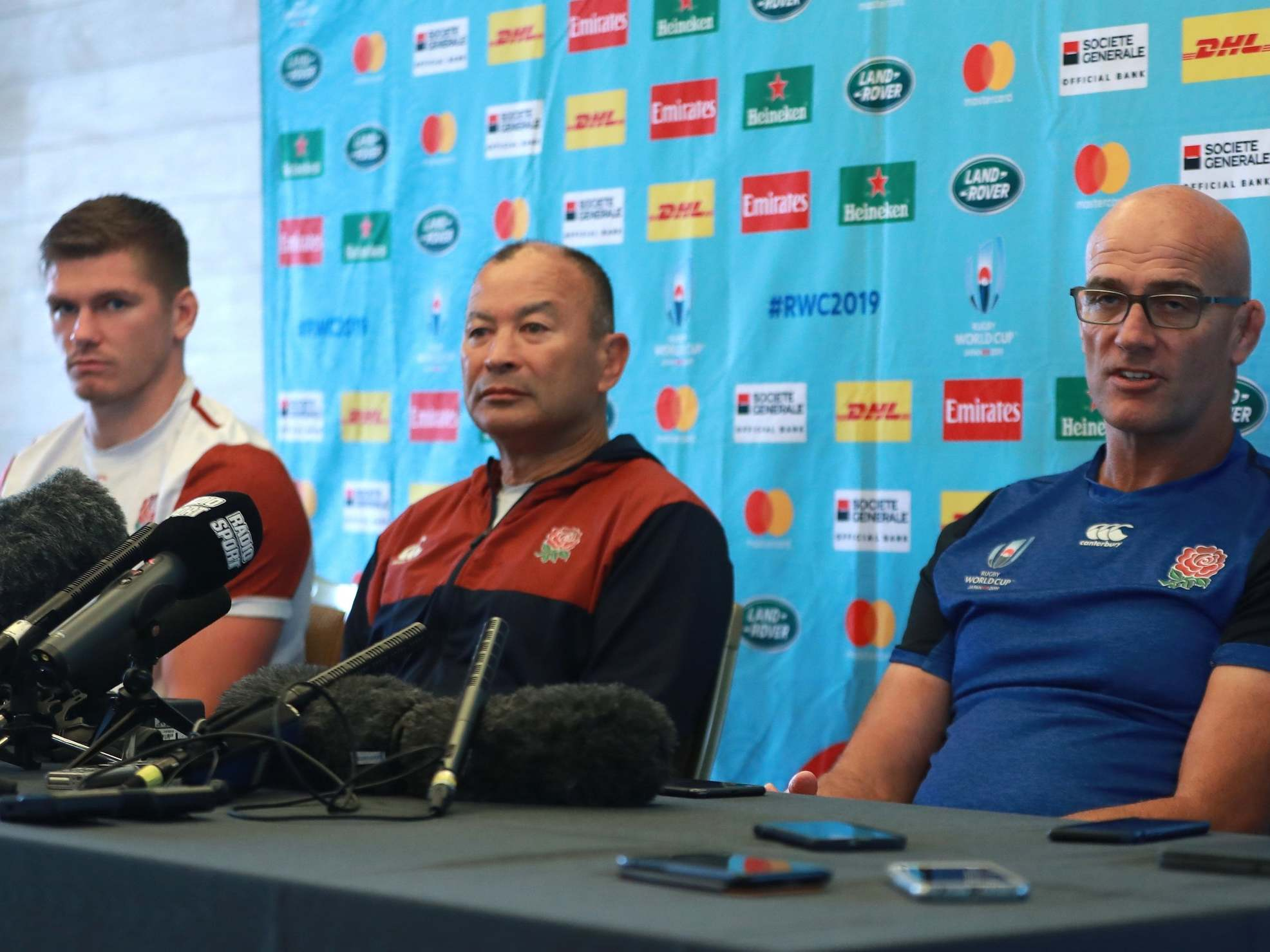 Rugby World Cup 2019: Watch Eddie Jones's extraordinary England press conference amid spying allegations