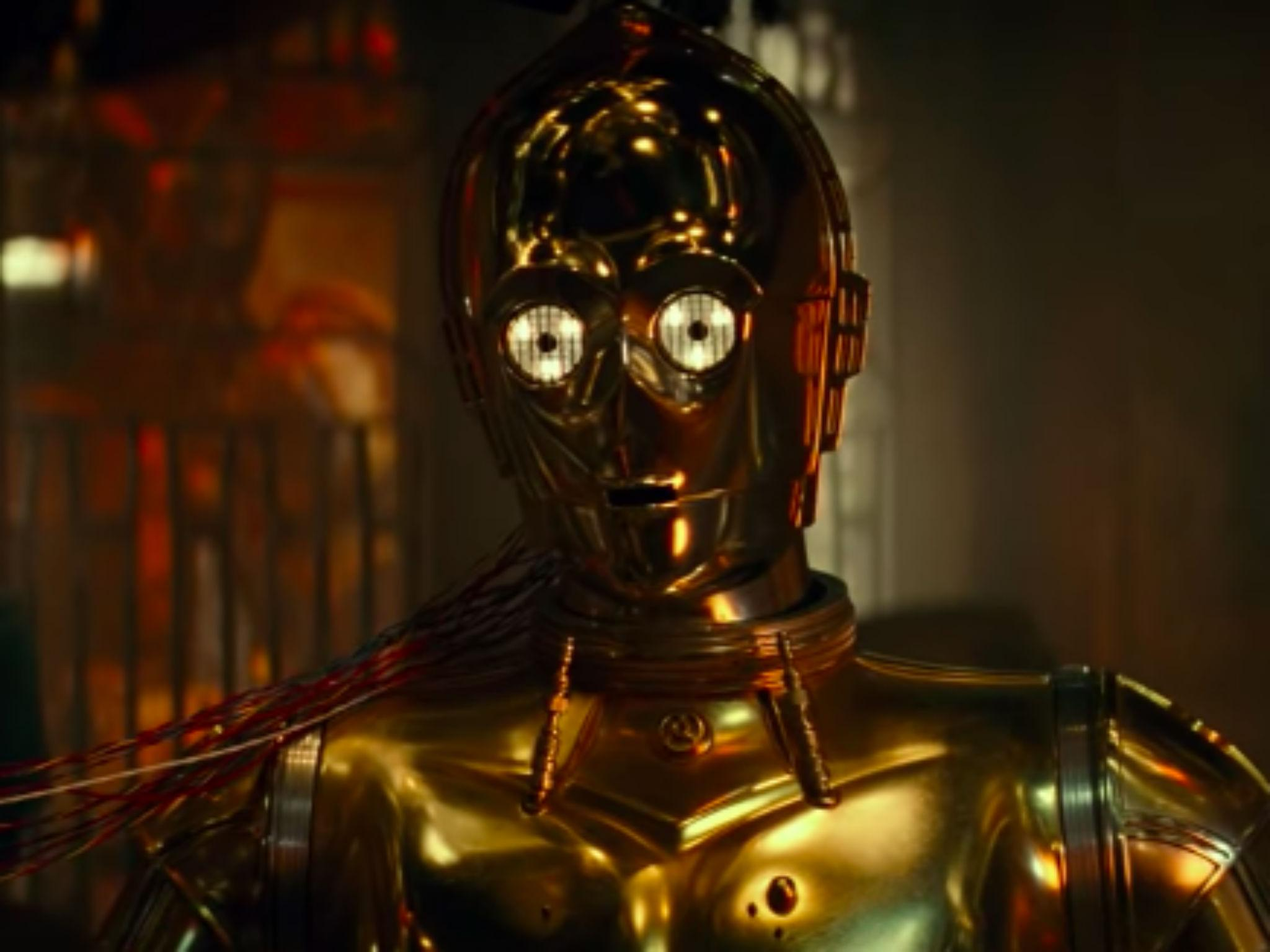 Star Wars fans predict death for C-3PO following new Episode 9 trailer: 'I definitely got some Dobby vibes'
