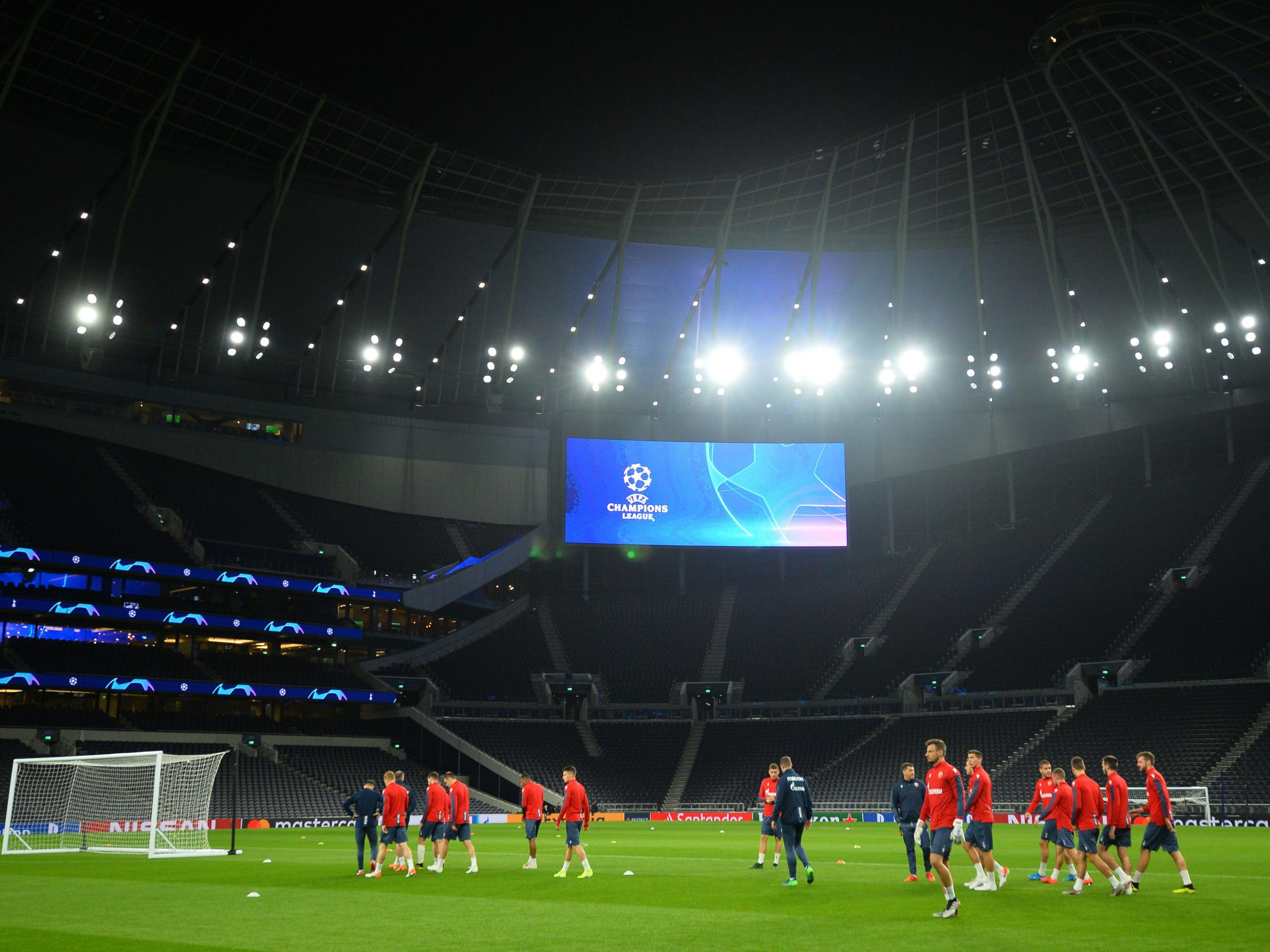 Tottenham vs Red Star Belgrade: Why are there so many empty seats for Champions League group stage game?