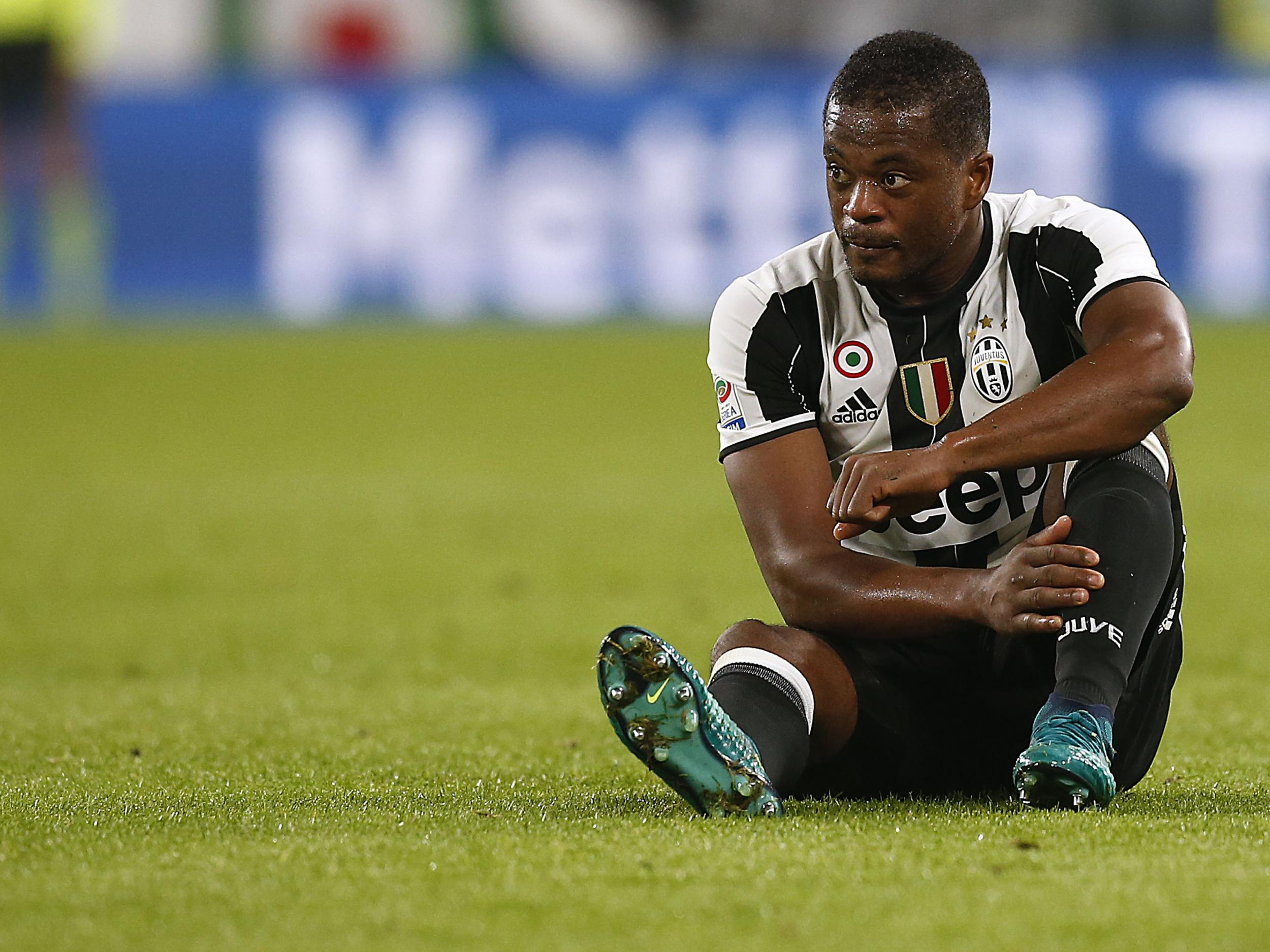 Patrice Evra claims time at Manchester United was 'like a holiday' compared to spell at Juventus